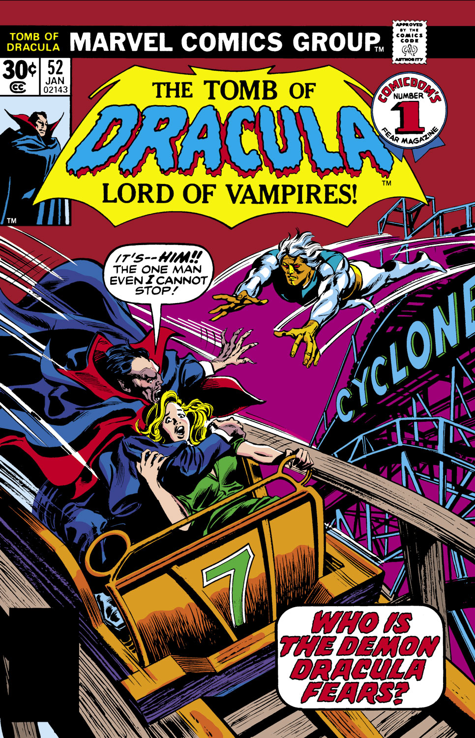 Tomb of Dracula (1972) issue 52 - Page 1