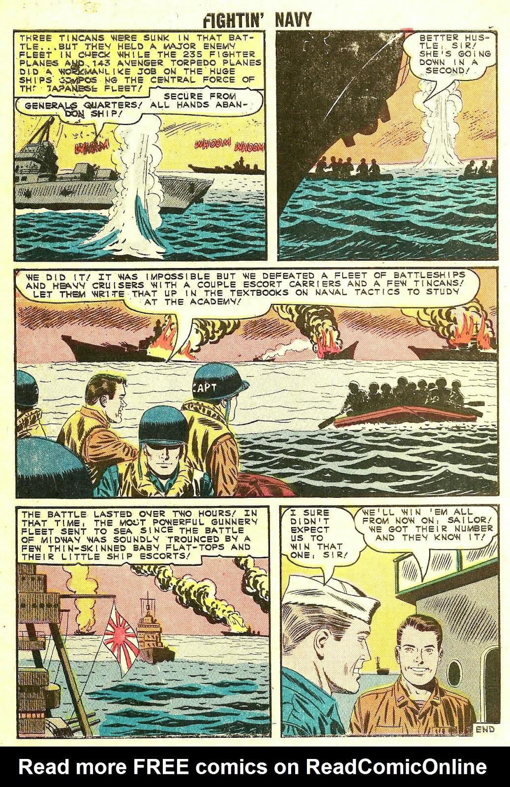 Read online Fightin' Navy comic -  Issue #119 - 10