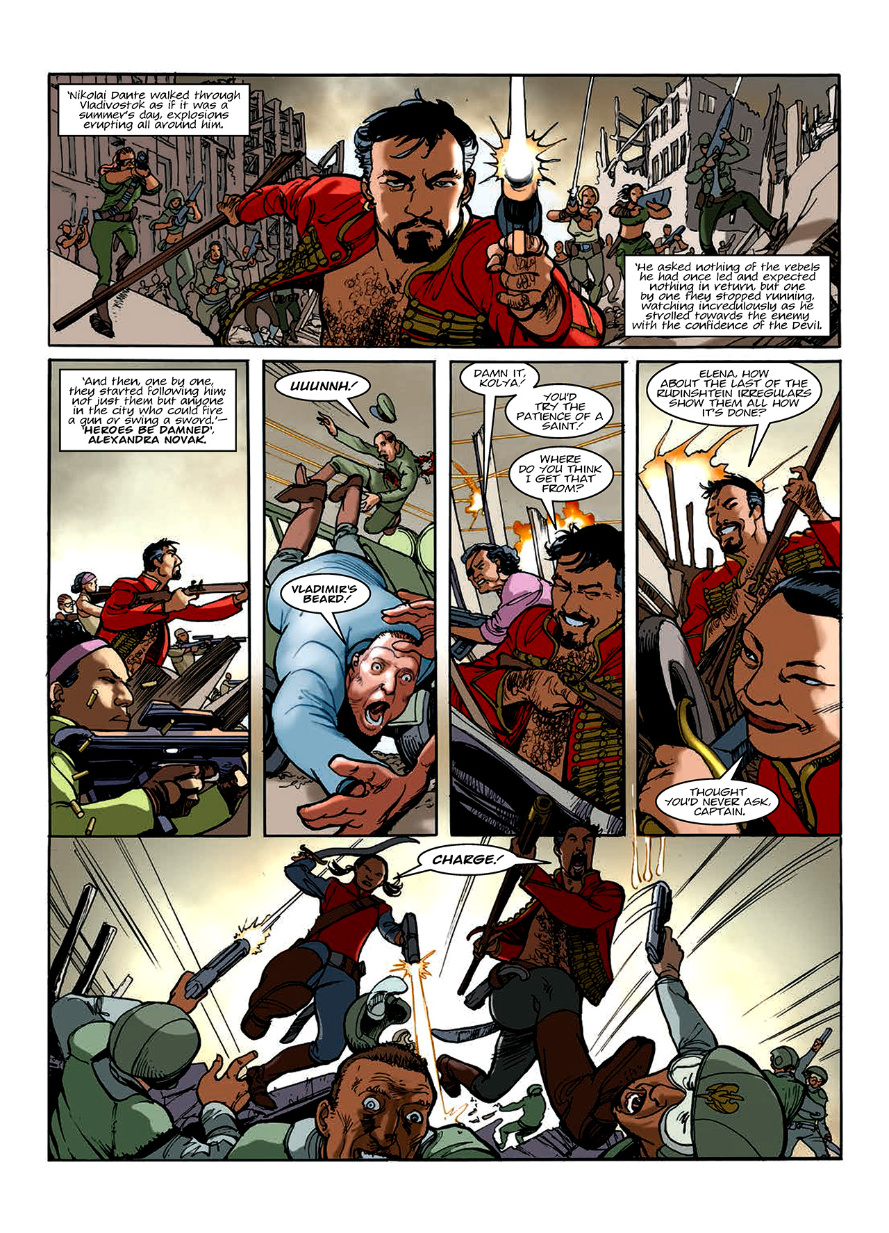 Read online Nikolai Dante comic -  Issue # TPB 10 - 155