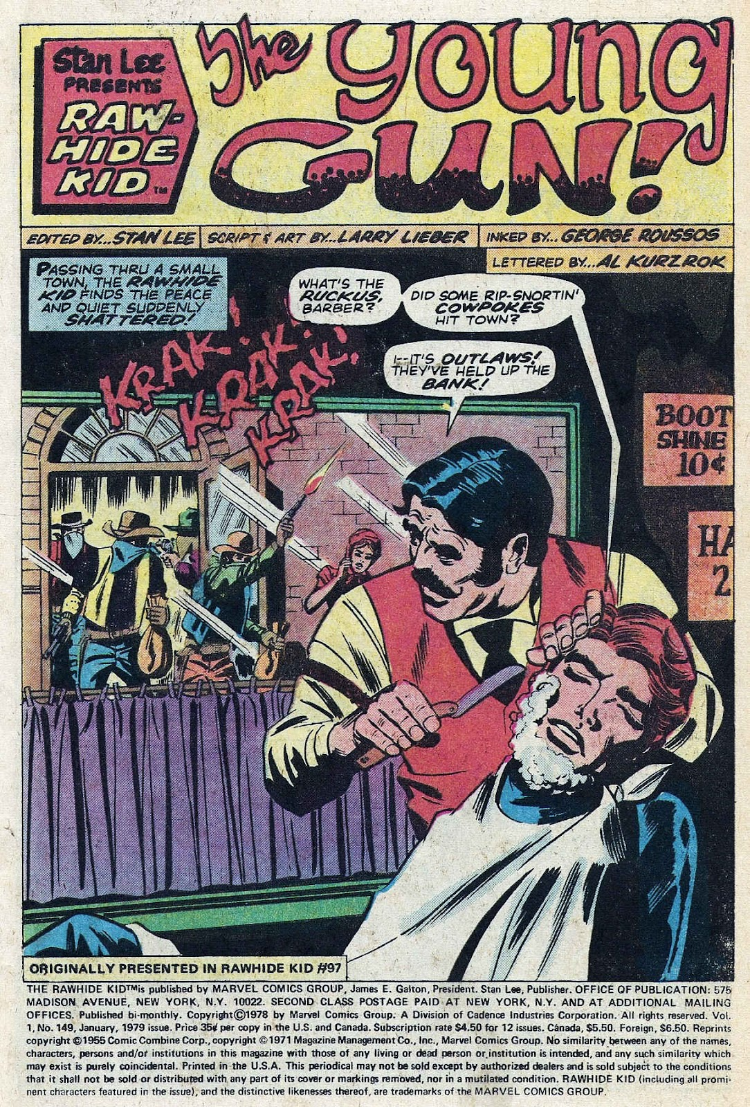 The Rawhide Kid (1955) issue 149 - Page 3