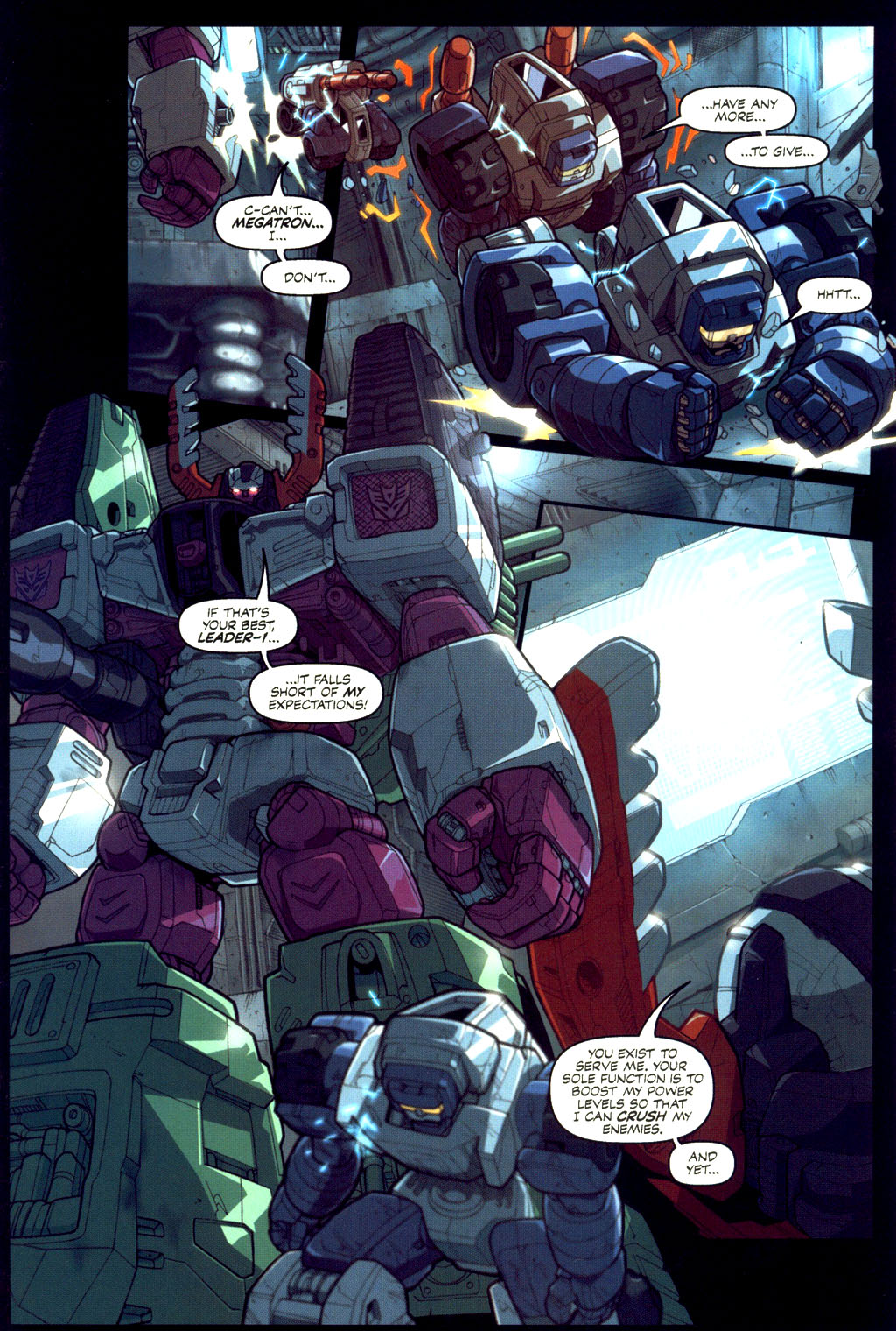 Read online Transformers Armada comic -  Issue #6 - 6