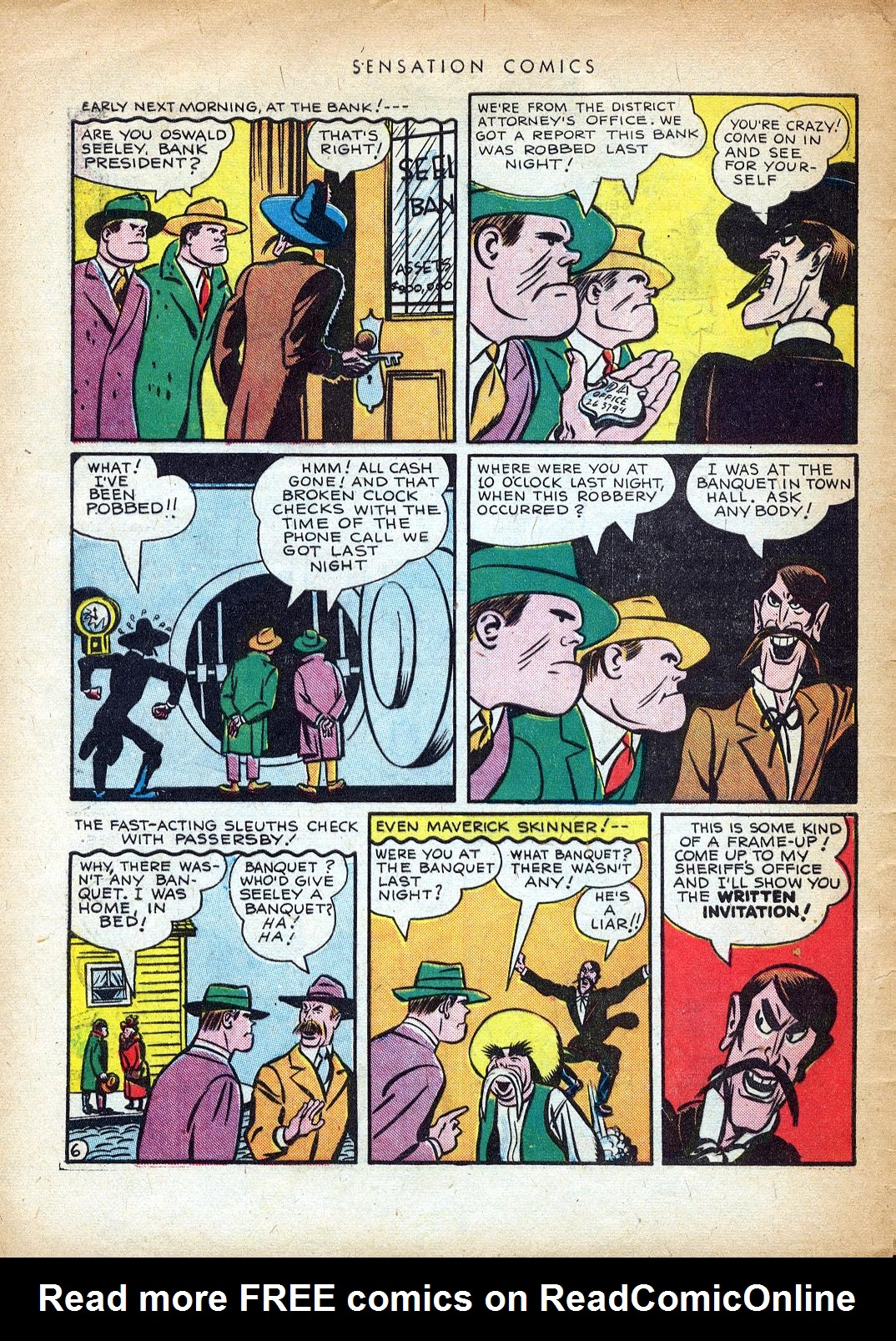 Read online Sensation (Mystery) Comics comic -  Issue #37 - 46