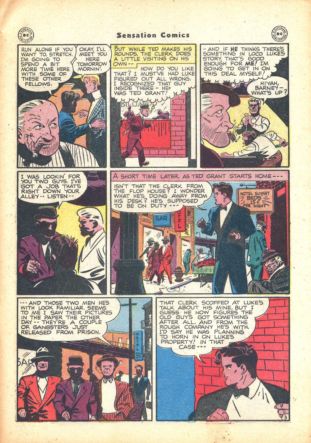Read online Sensation (Mystery) Comics comic -  Issue #63 - 43