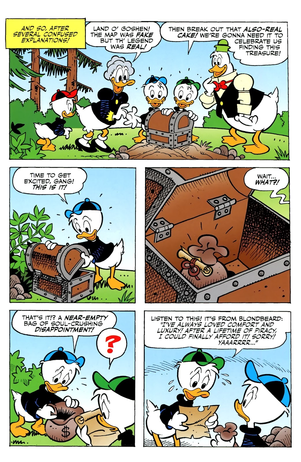 Walt Disney's Comics and Stories issue 730 - Page 36