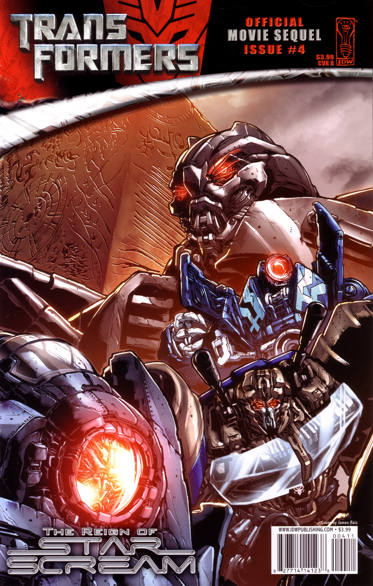Read online Transformers: The Reign of Starscream comic -  Issue #4 - 2