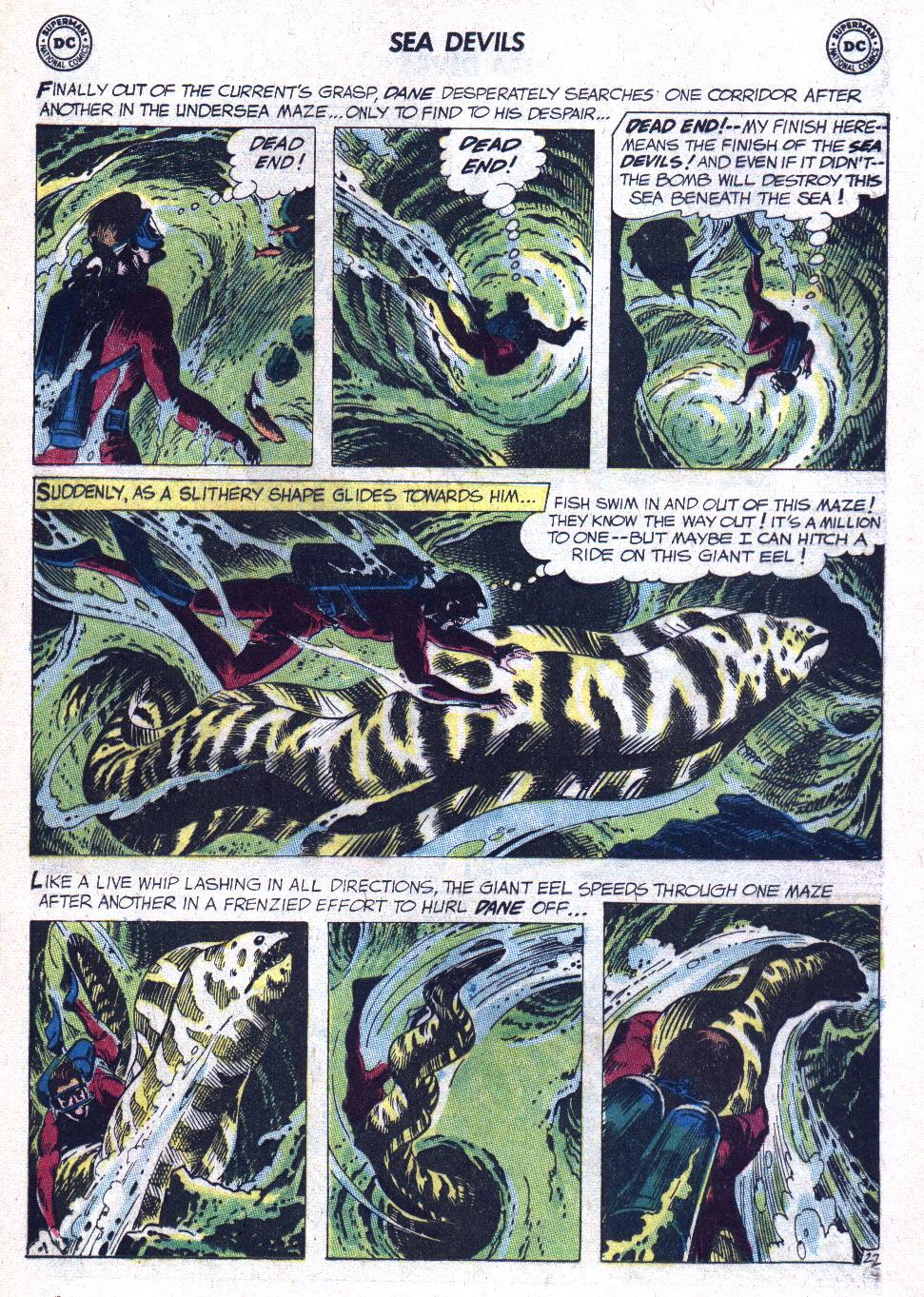 Read online Sea Devils comic -  Issue #9 - 30