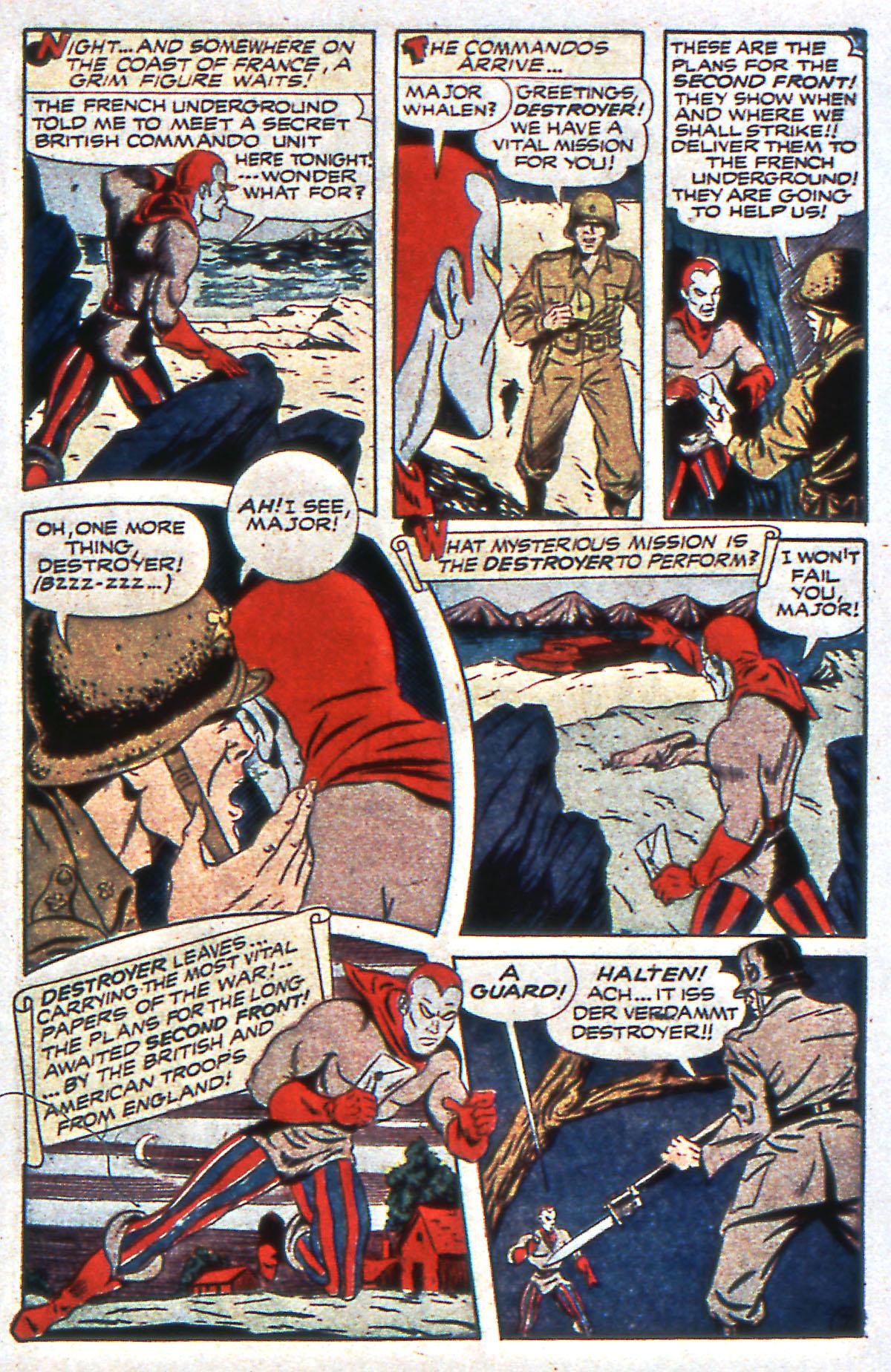Read online All-Winners Comics comic -  Issue #12 - 43