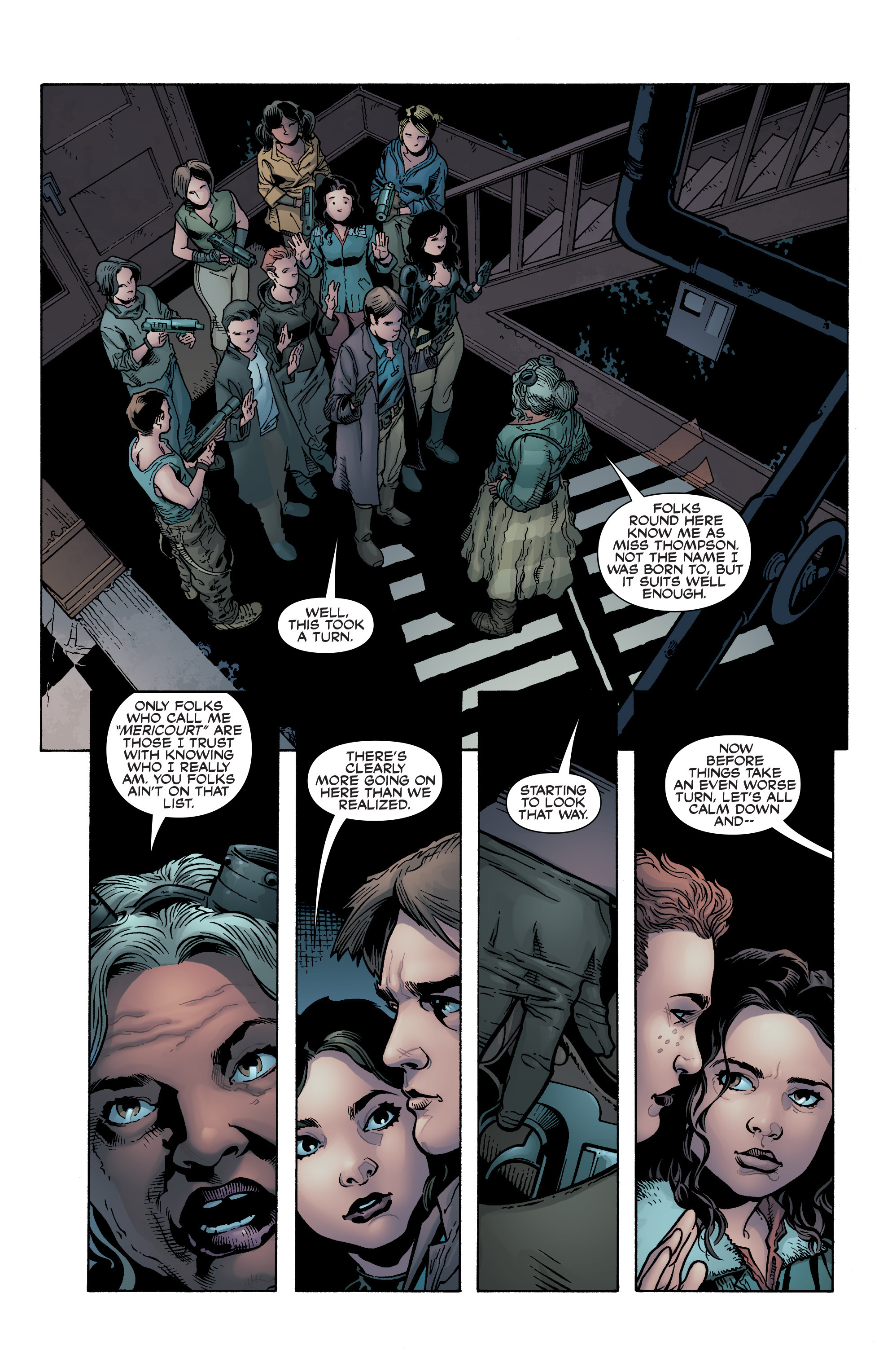 Read online Serenity: Firefly Class 03-K64 – No Power in the 'Verse comic -  Issue #2 - 4