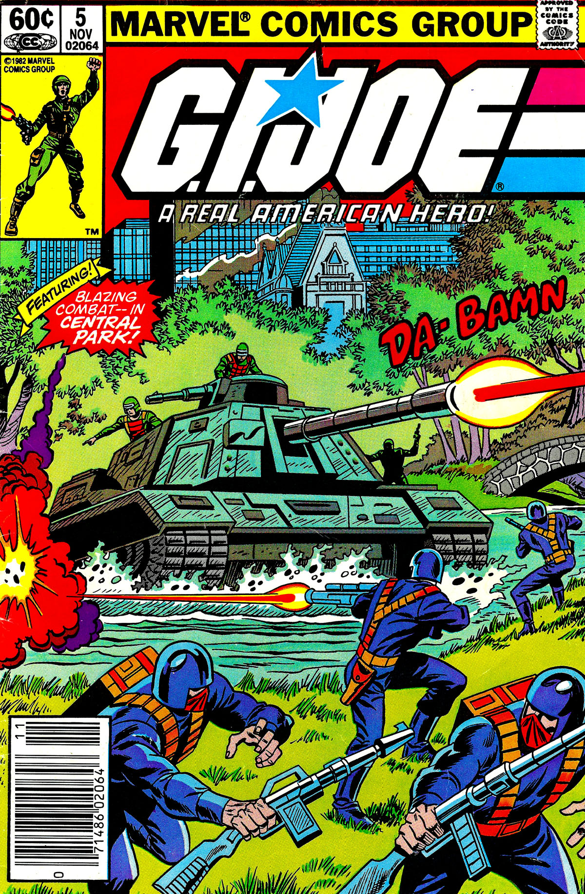 G.I. Joe: A Real American Hero 5 Page 1