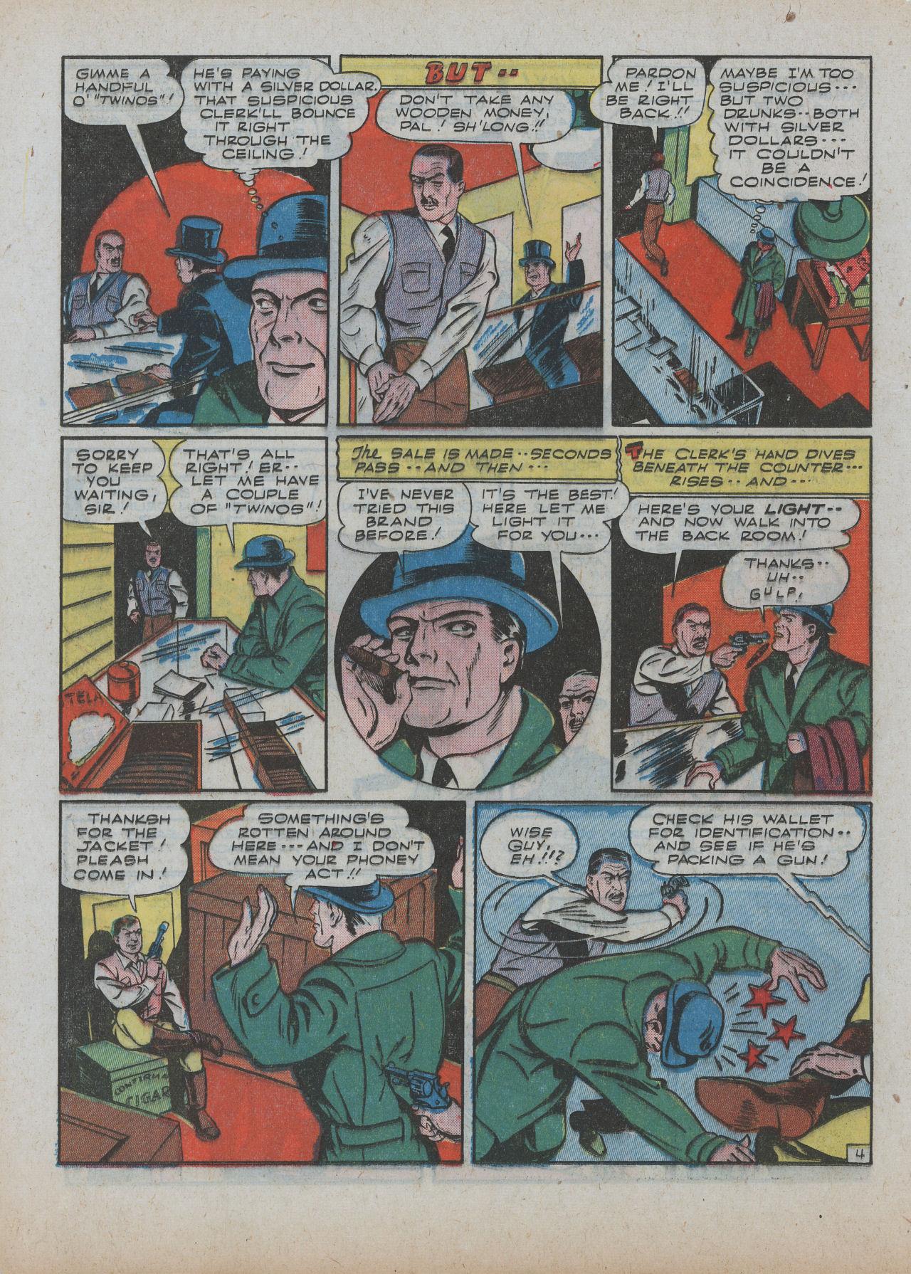Read online Detective Comics (1937) comic -  Issue #63 - 20