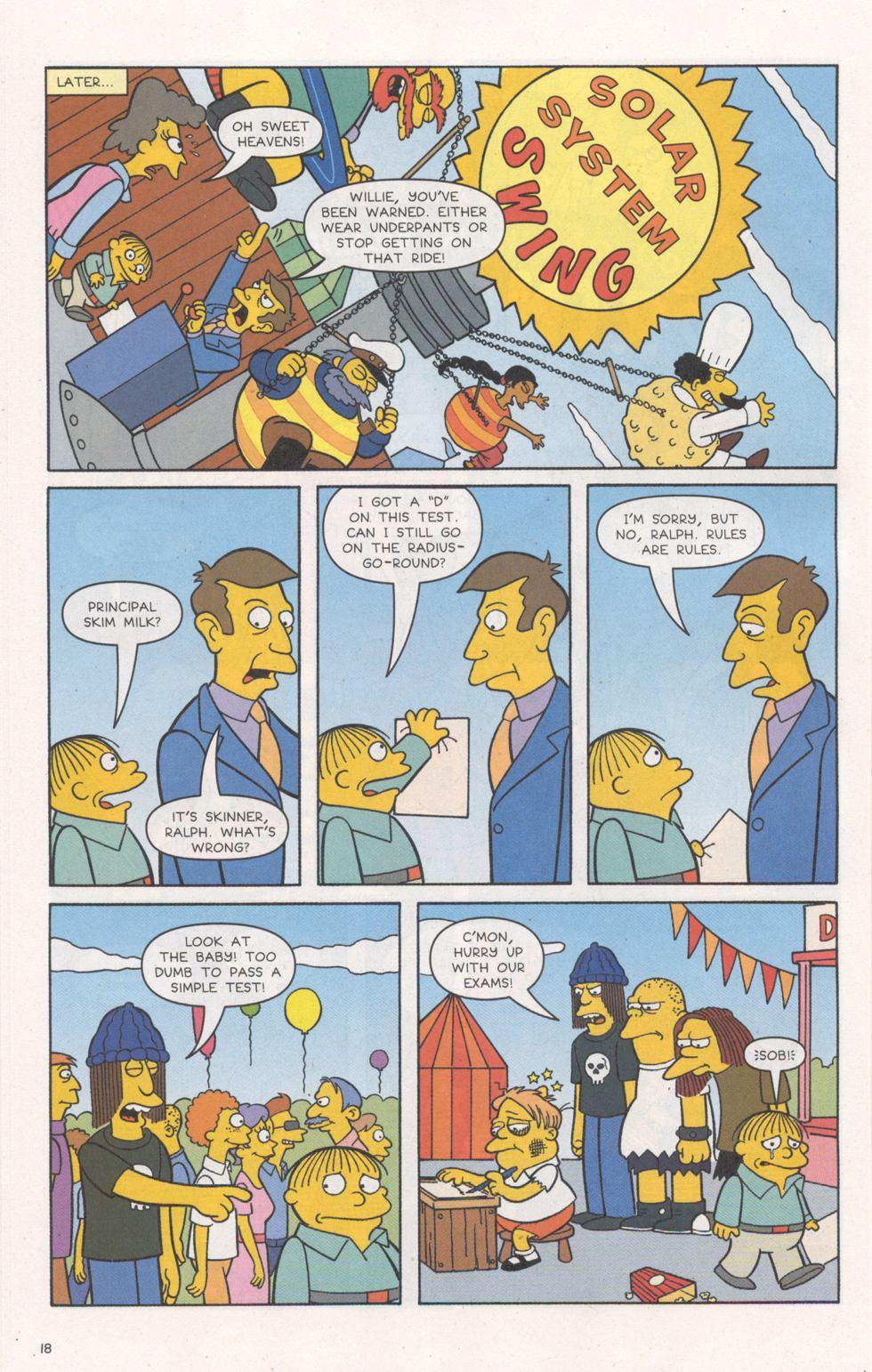 Read online Simpsons Comics comic -  Issue #93 - 19