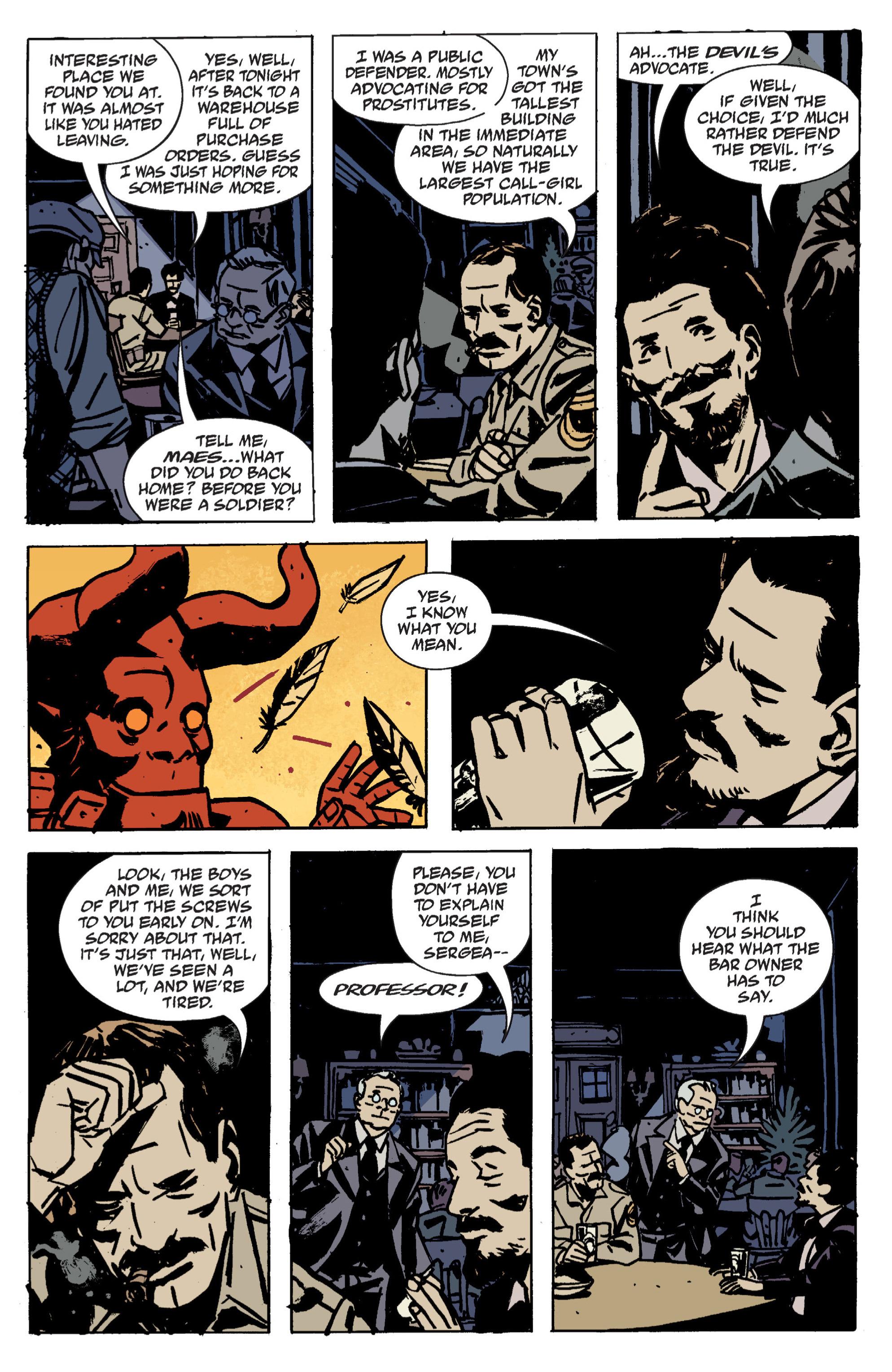 Read online B.P.R.D. (2003) comic -  Issue # TPB 9 - 37