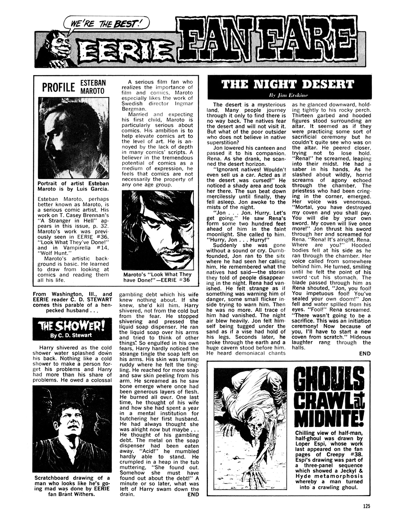 Read online Eerie Archives comic -  Issue # TPB 8 - 126