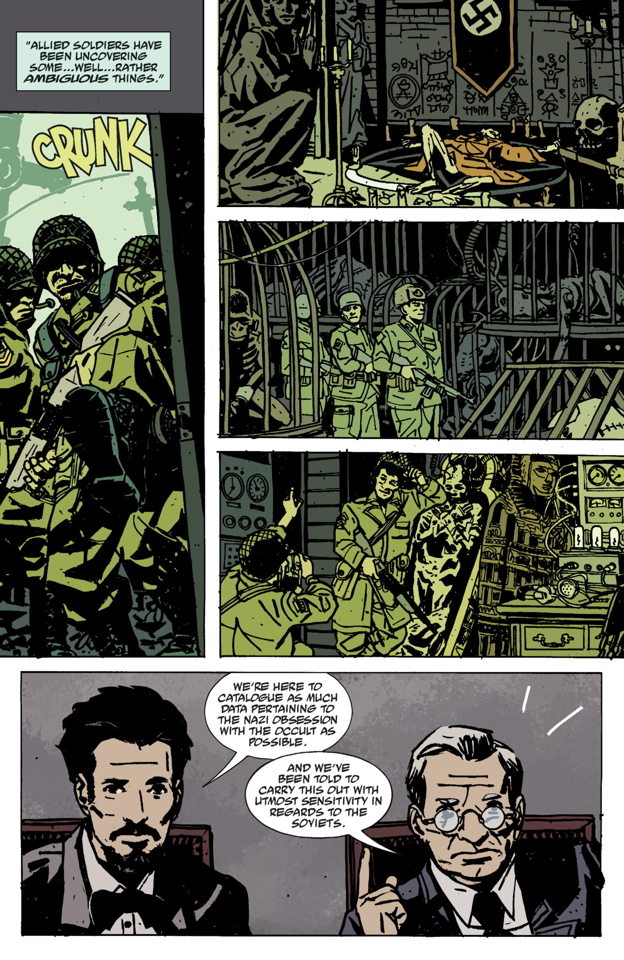 Read online B.P.R.D. (2003) comic -  Issue # TPB 9 - 16