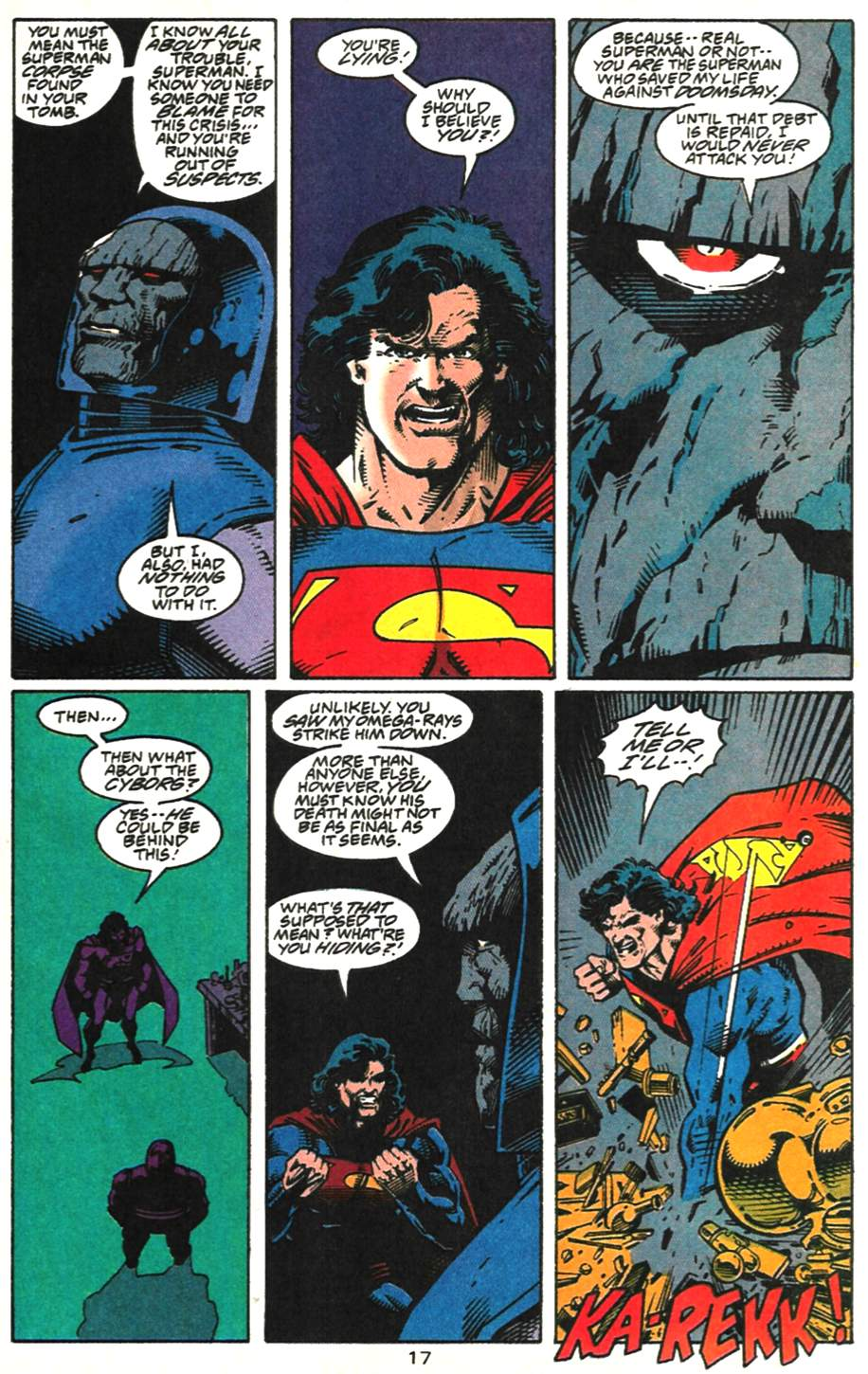 Read online Adventures of Superman (1987) comic -  Issue #518 - 18