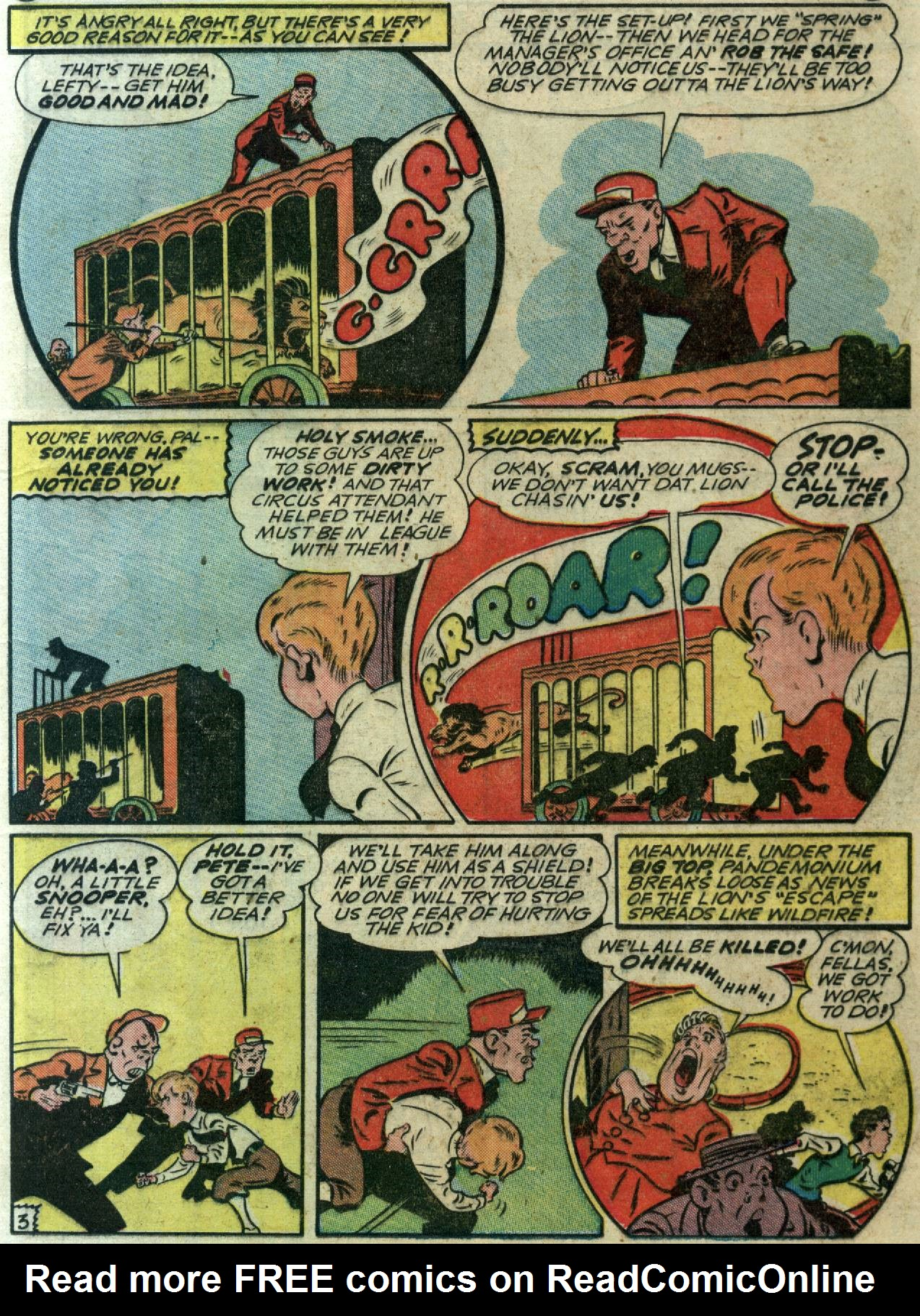 Read online Sensation (Mystery) Comics comic -  Issue #58 - 19