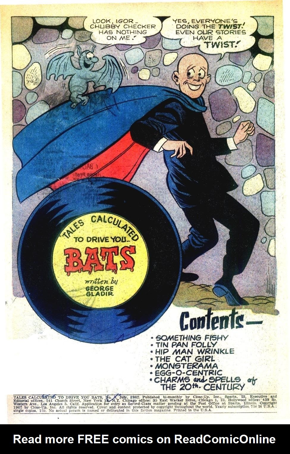 Read online Tales Calculated to Drive You Bats comic -  Issue #5 - 3