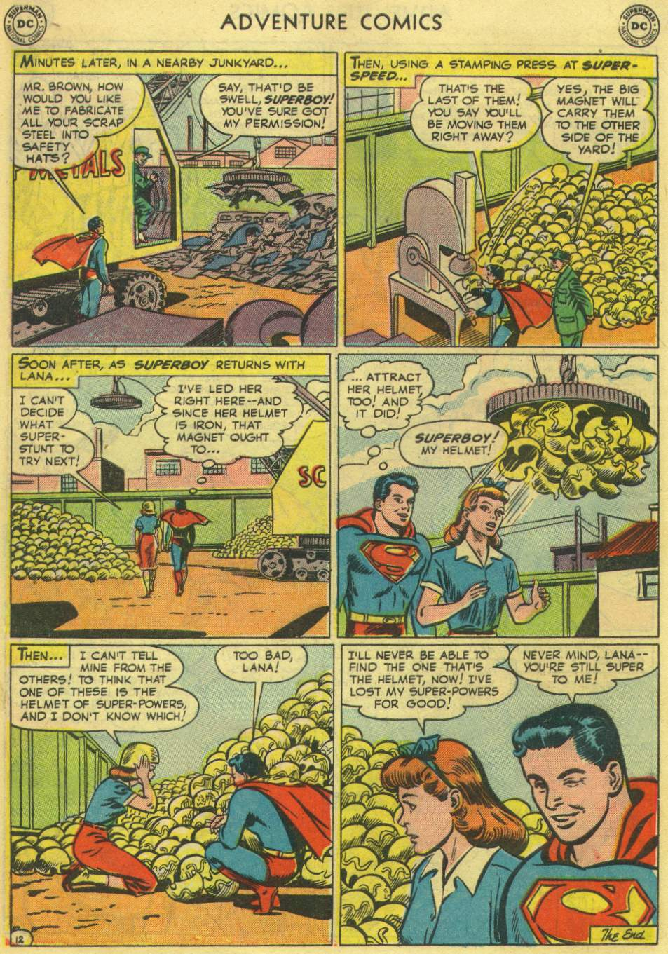 Read online Adventure Comics (1938) comic -  Issue #167 - 14