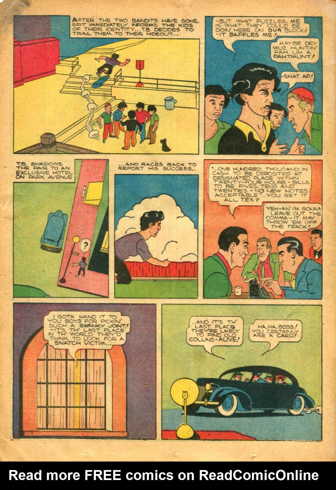 Read online Shadow Comics comic -  Issue #12 - 34