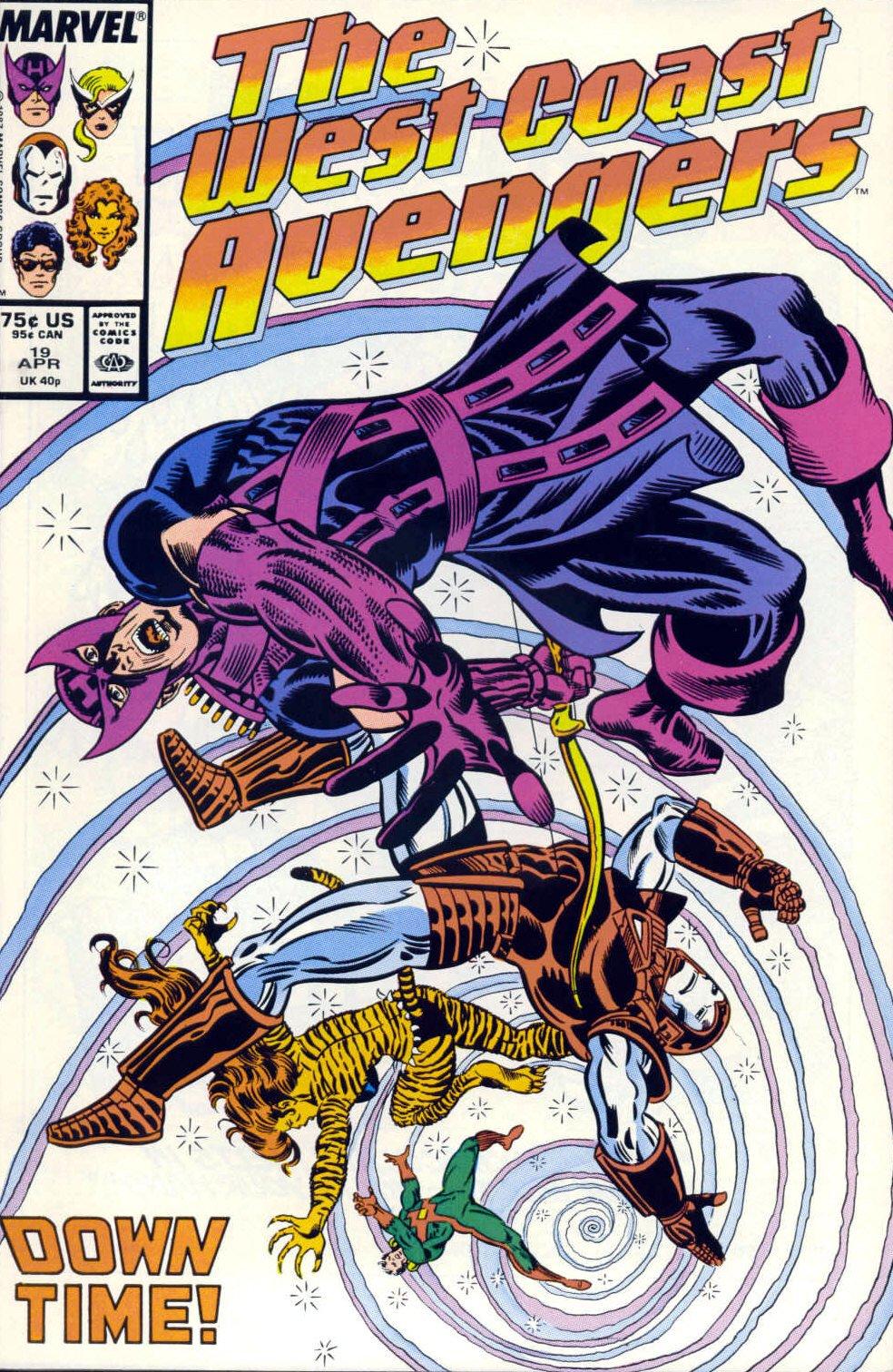 West Coast Avengers (1985) 19 Page 1