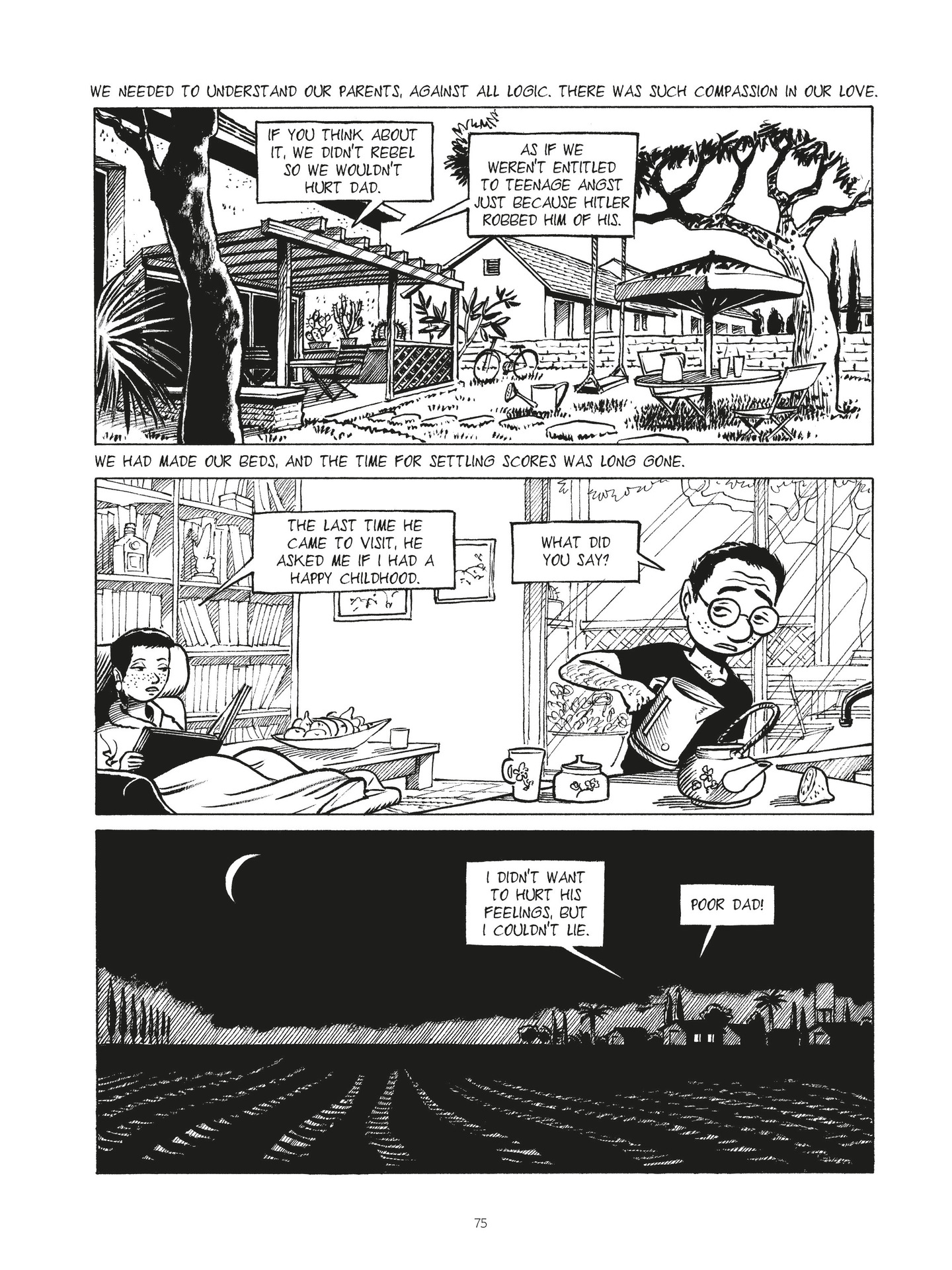 Read online Second Generation - The Things I Didn't Tell My Father comic -  Issue # Full - 72
