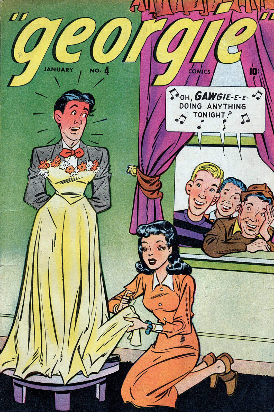 Georgie Comics (1945) issue 4 - Page 1