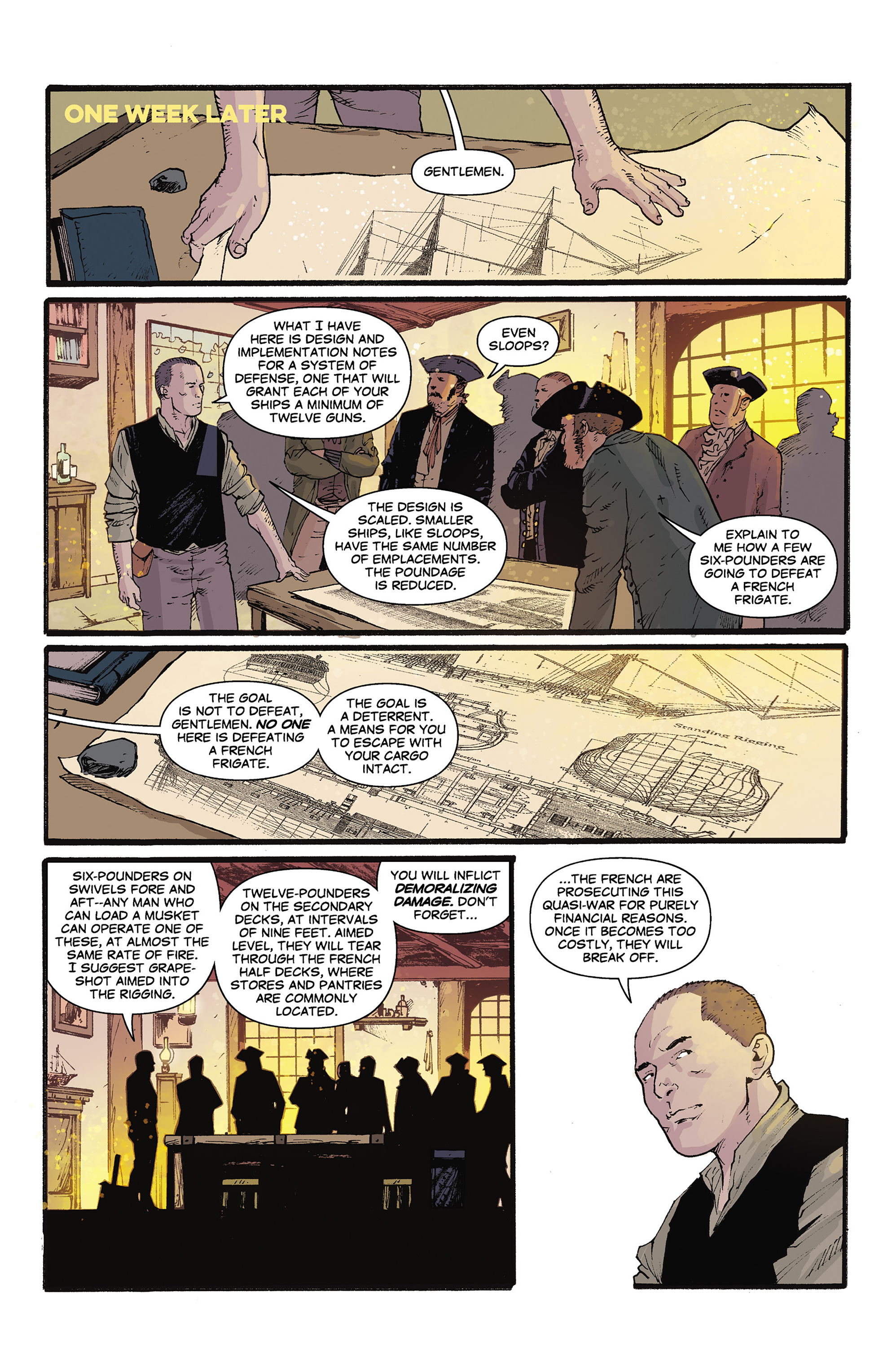 Read online Rebels: These Free and Independent States comic -  Issue #3 - 17