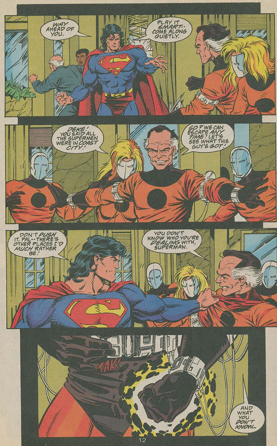 Read online Adventures of Superman (1987) comic -  Issue #505 - 13