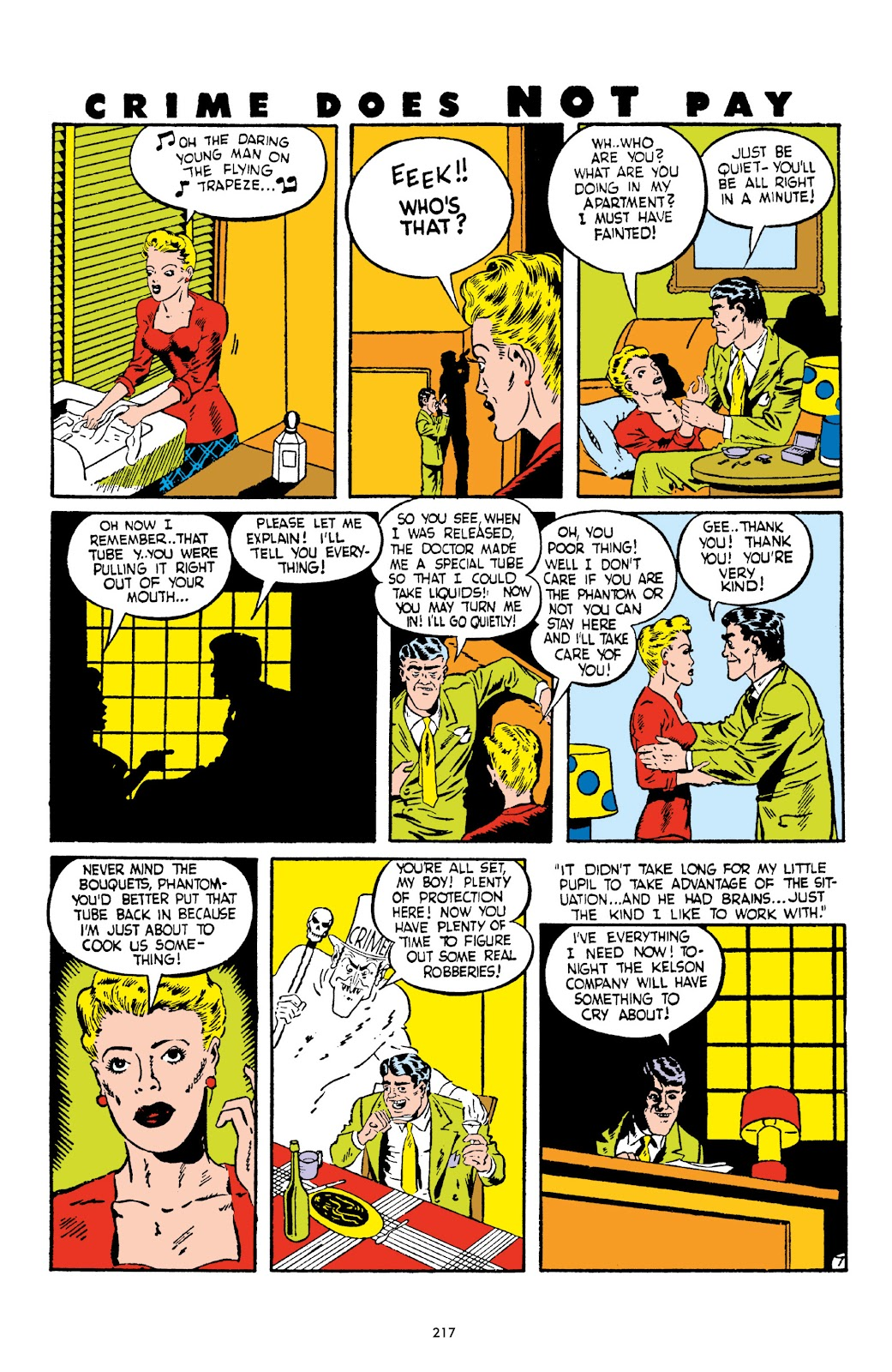 Read online Crime Does Not Pay Archives comic -  Issue # TPB 2 (Part 3) - 17