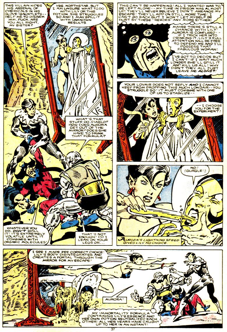 Read online Alpha Flight (1983) comic -  Issue # _Annual 1 - 38