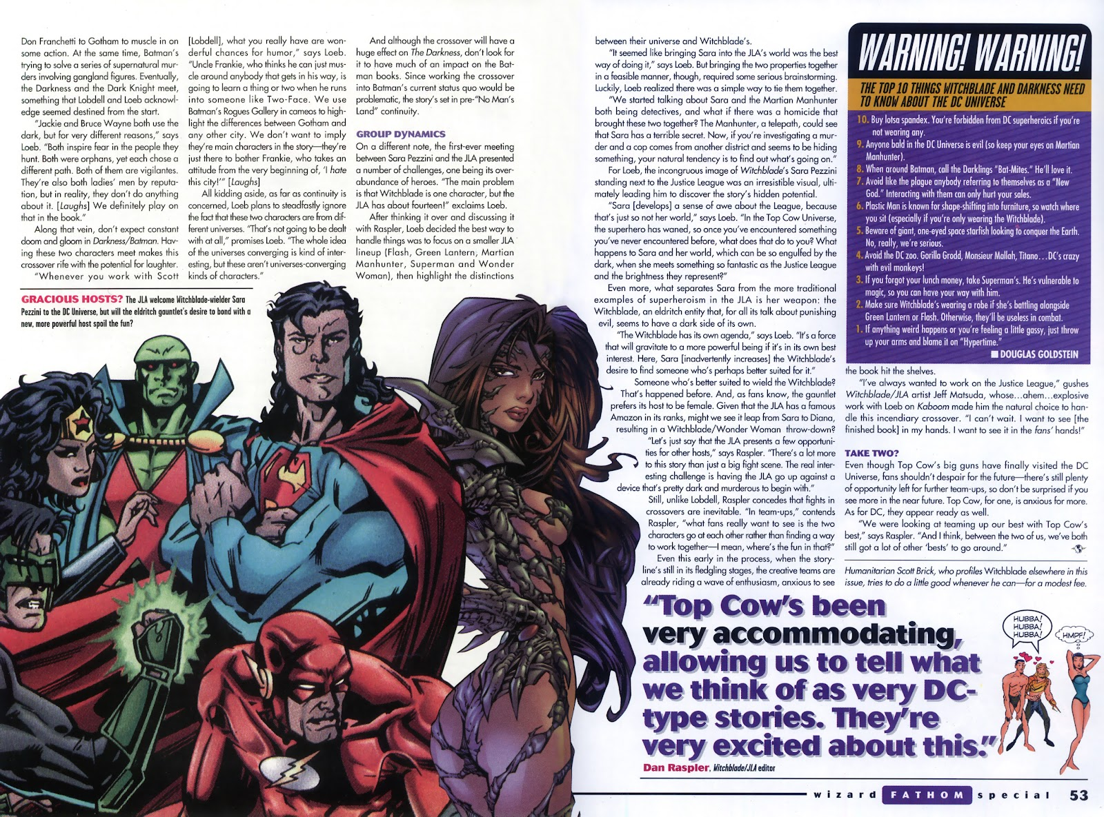 Read online Fathom Special comic -  Issue # Full - 39