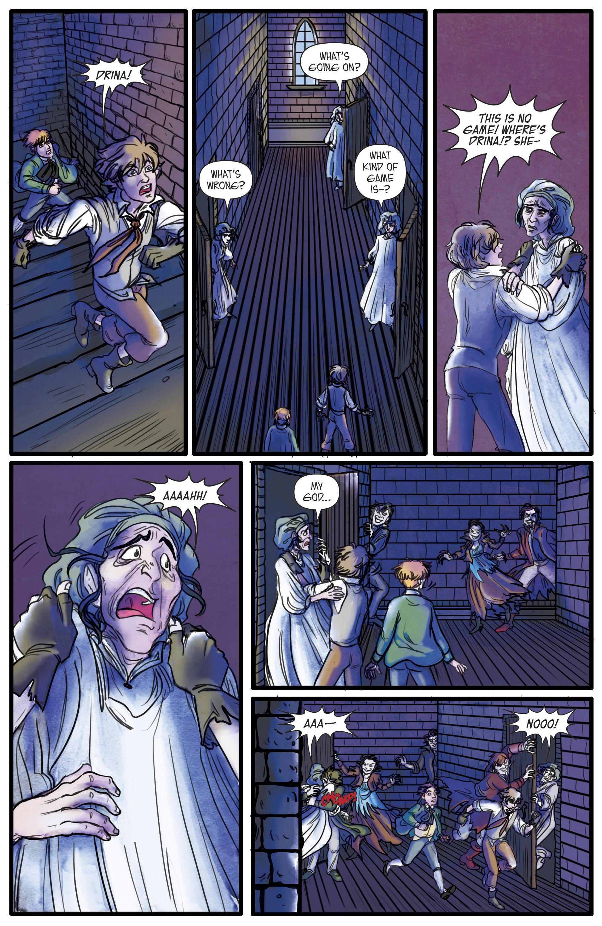 Read online Artful comic -  Issue #3 - 6