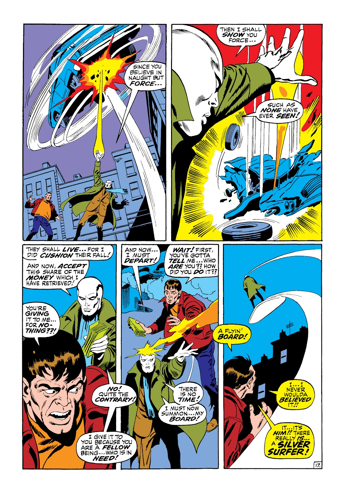 Read online Marvel Masterworks: The Silver Surfer comic - Issue # TPB 1 (Part 2) - 85