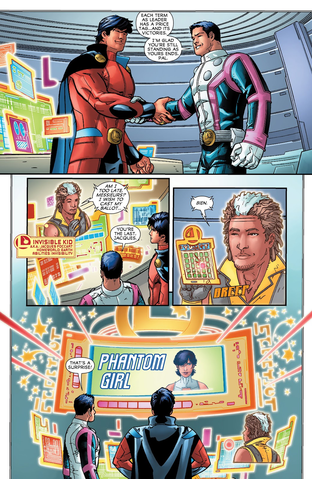 Legion of Super-Heroes (2011) Issue #16 #17 - English 18