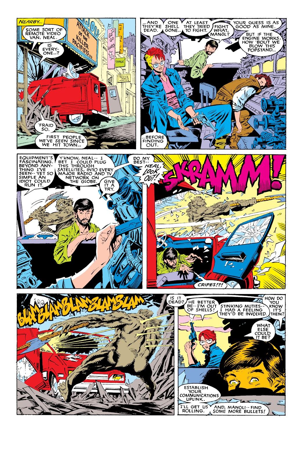 Read online X-Men Milestones: Fall of the Mutants comic -  Issue # TPB (Part 1) - 39