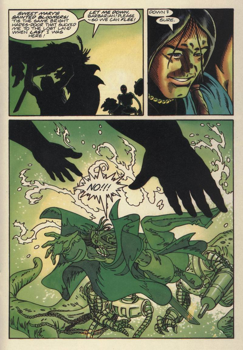 Read online Turok, Dinosaur Hunter (1993) comic -  Issue #15 - 21