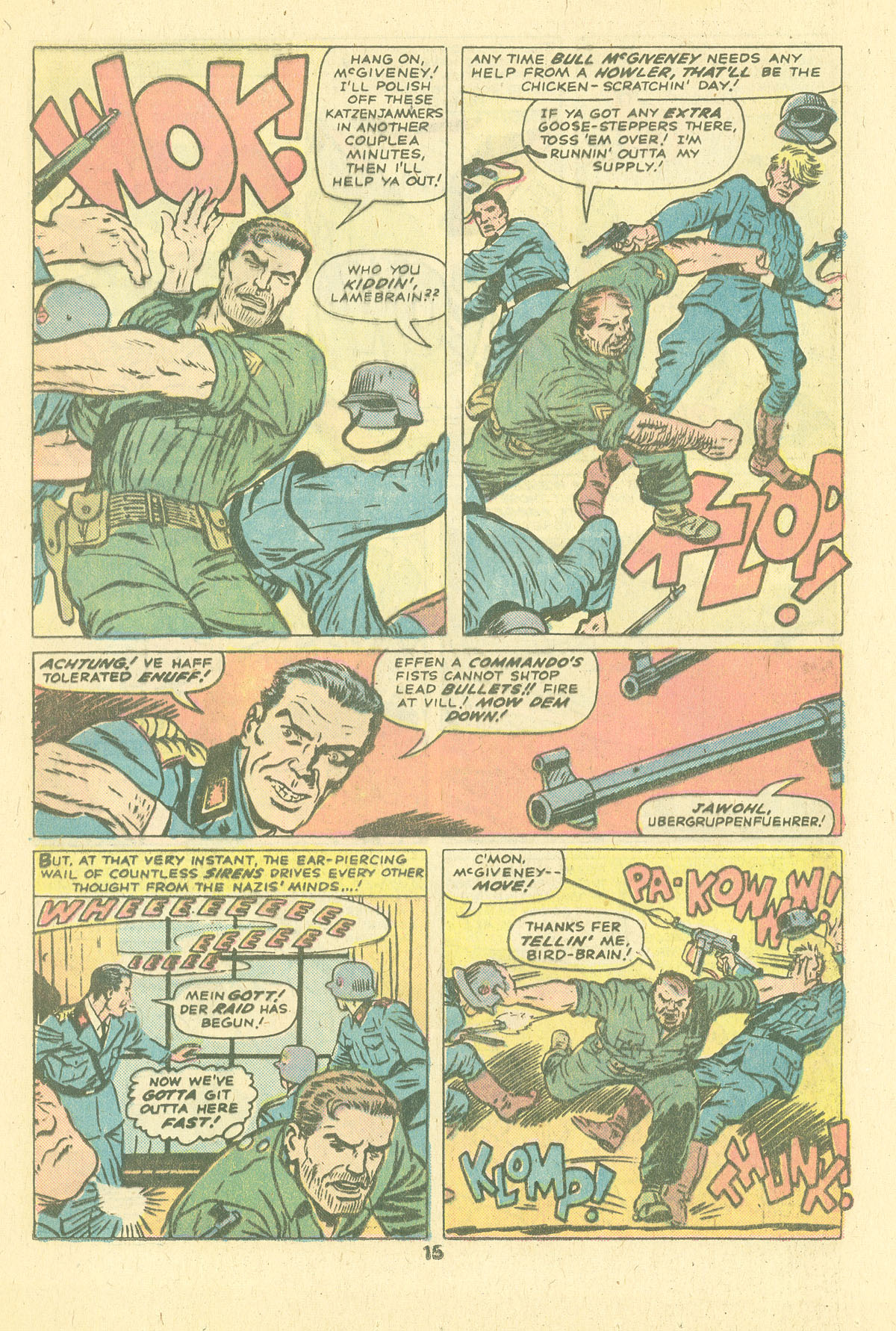 Read online Sgt. Fury comic -  Issue #124 - 17