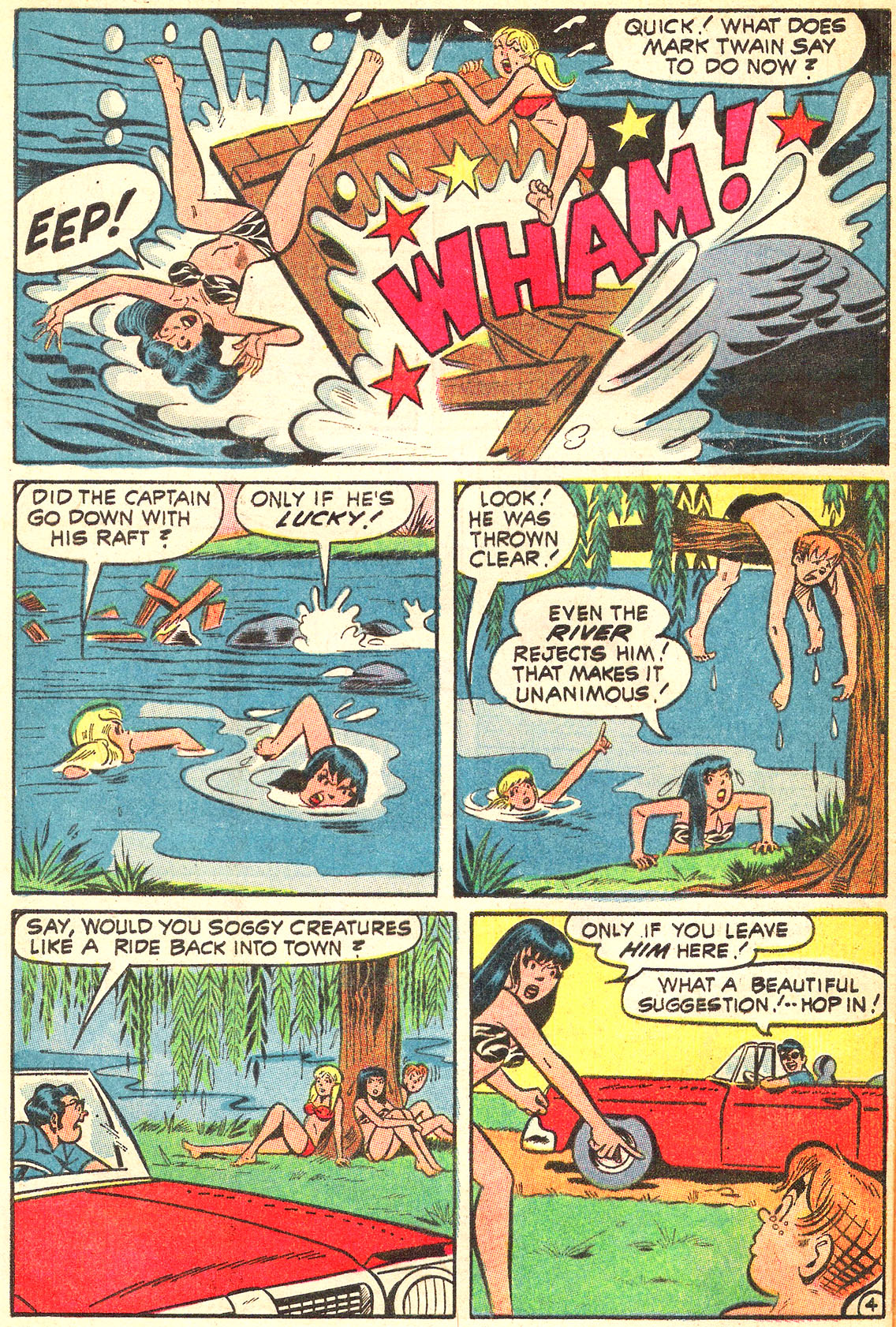 Read online Archie (1960) comic -  Issue #213 - 32