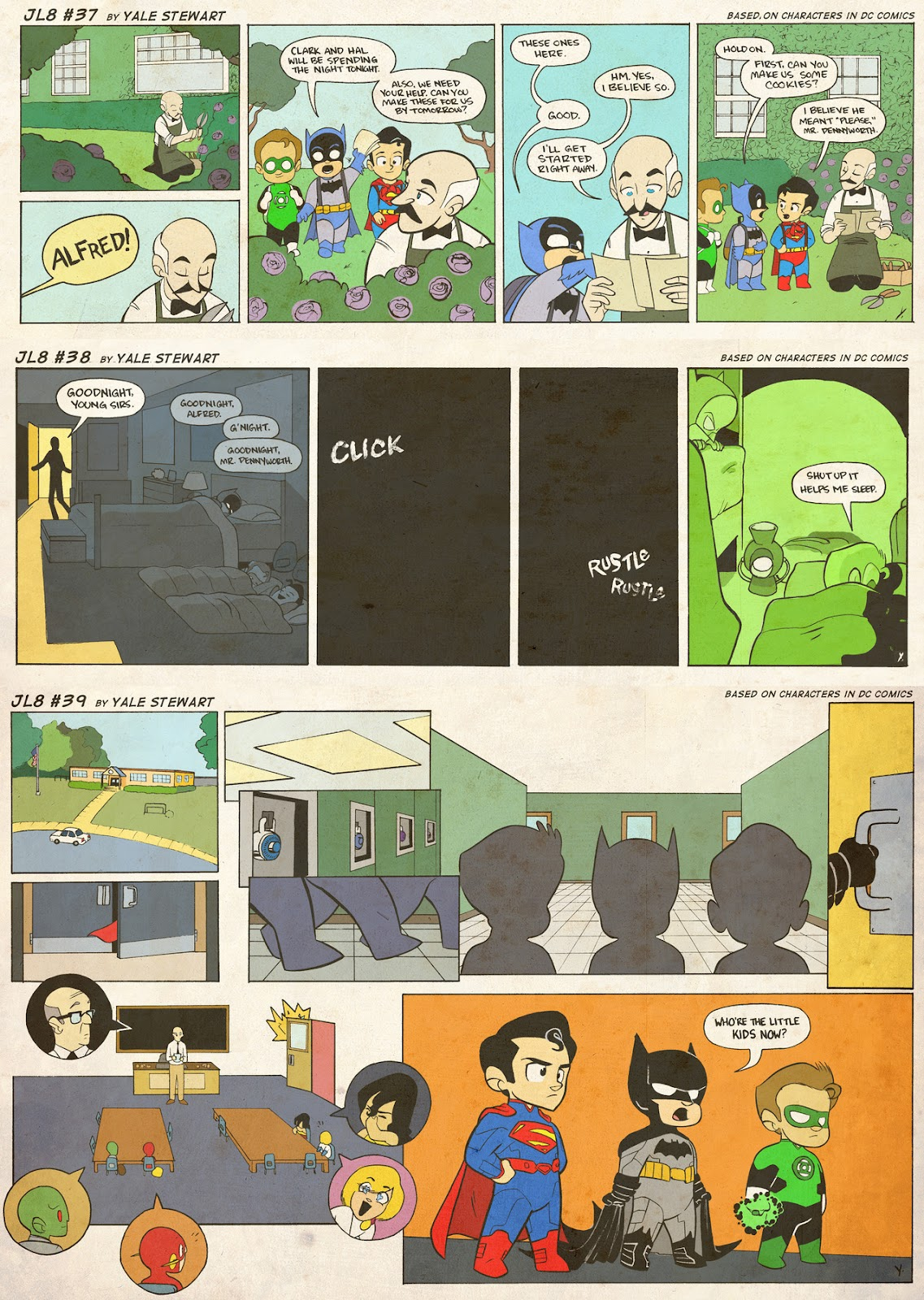 Read online JL8 – The Complete Collection comic -  Issue # TPB (Part 1) - 16