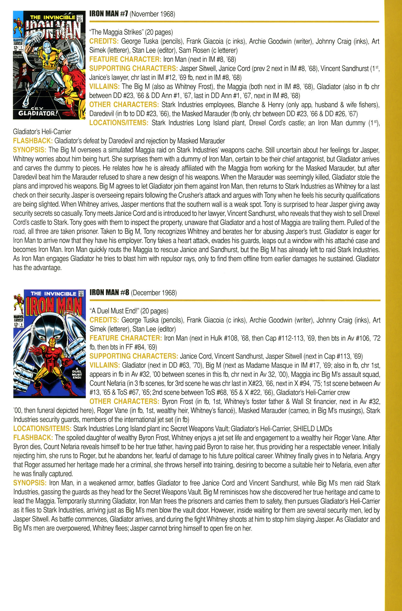 Read online Official Index to the Marvel Universe comic -  Issue #2 - 43