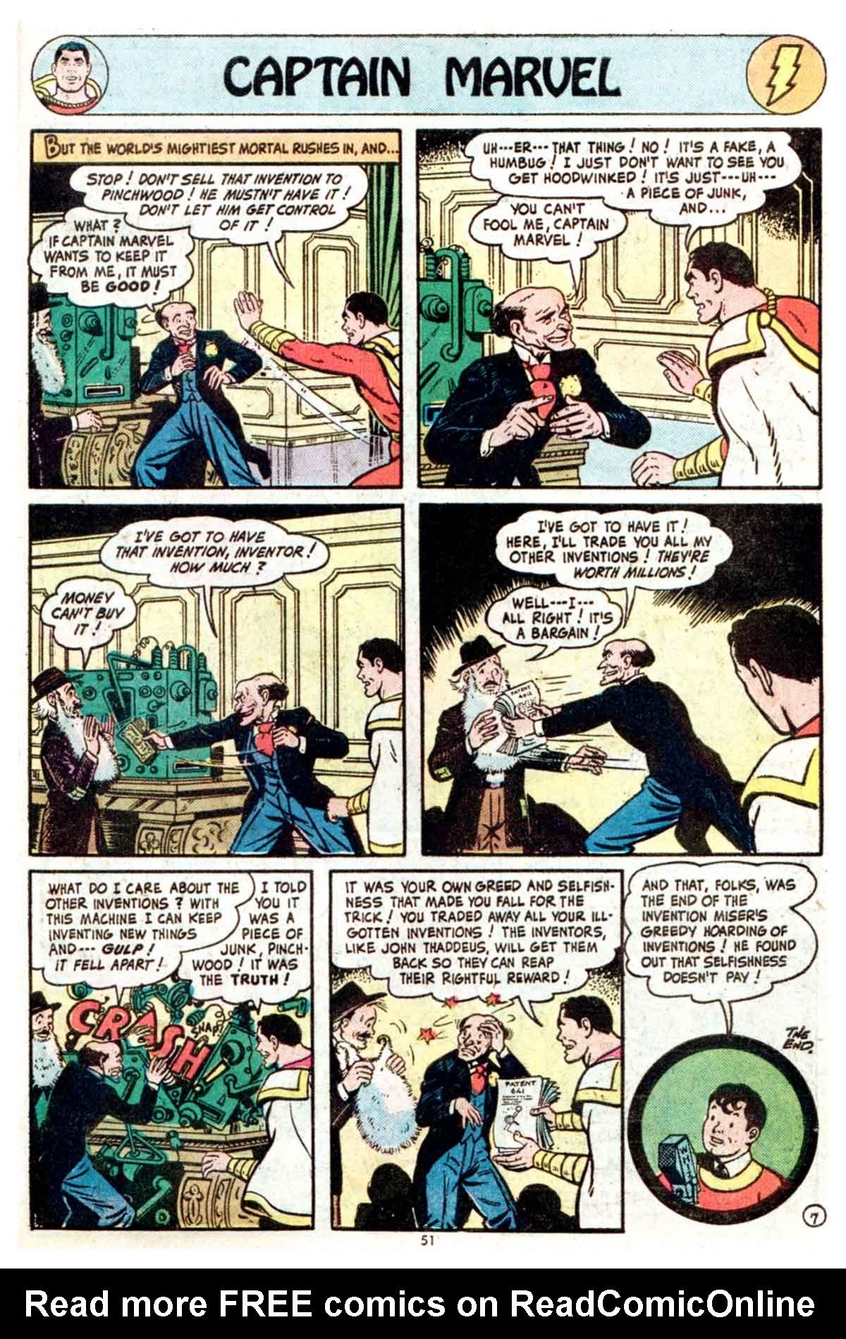 Read online Shazam! (1973) comic -  Issue #16 - 51