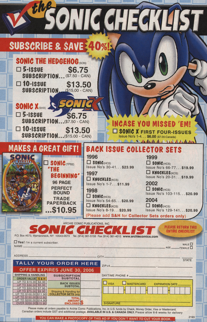 Read online Sonic X comic -  Issue #6 - 34