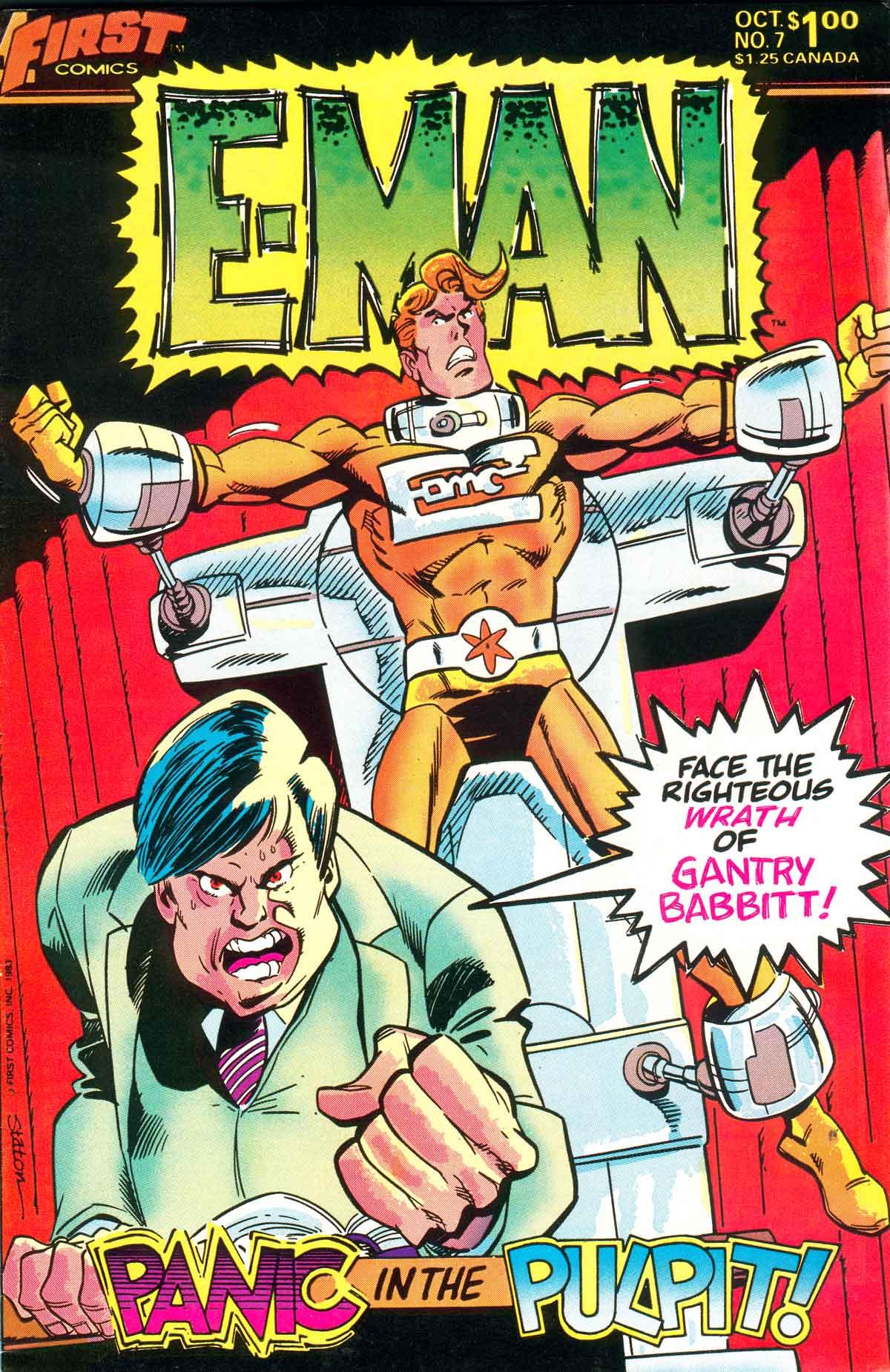 E-Man (1983) 7 Page 1