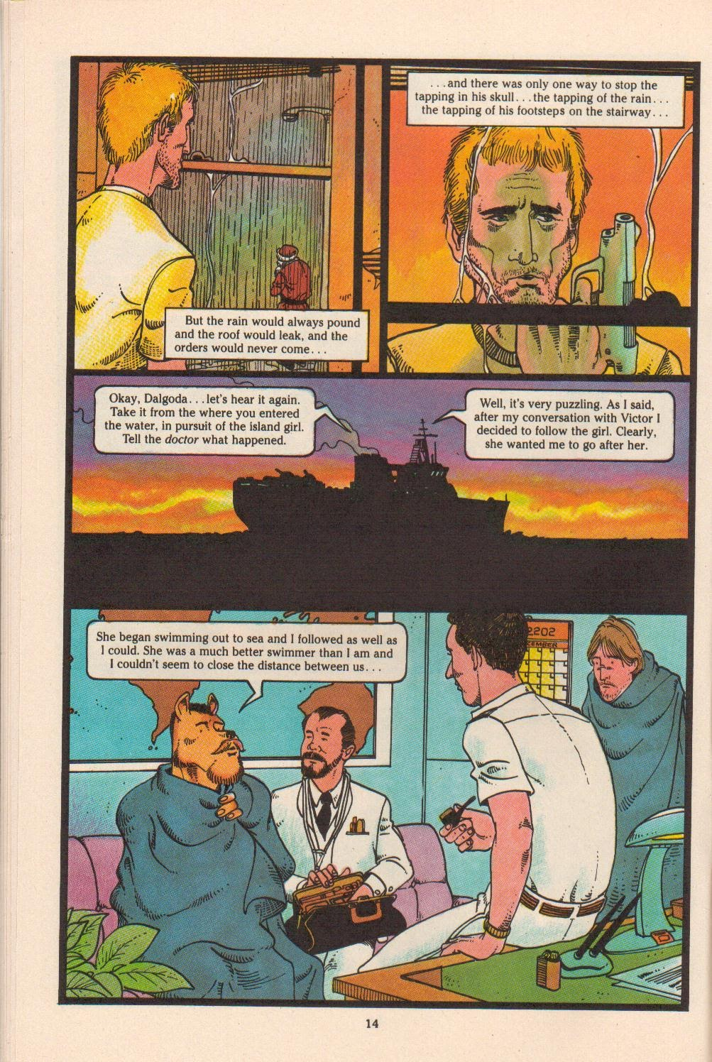 Read online Dalgoda comic -  Issue #4 - 16