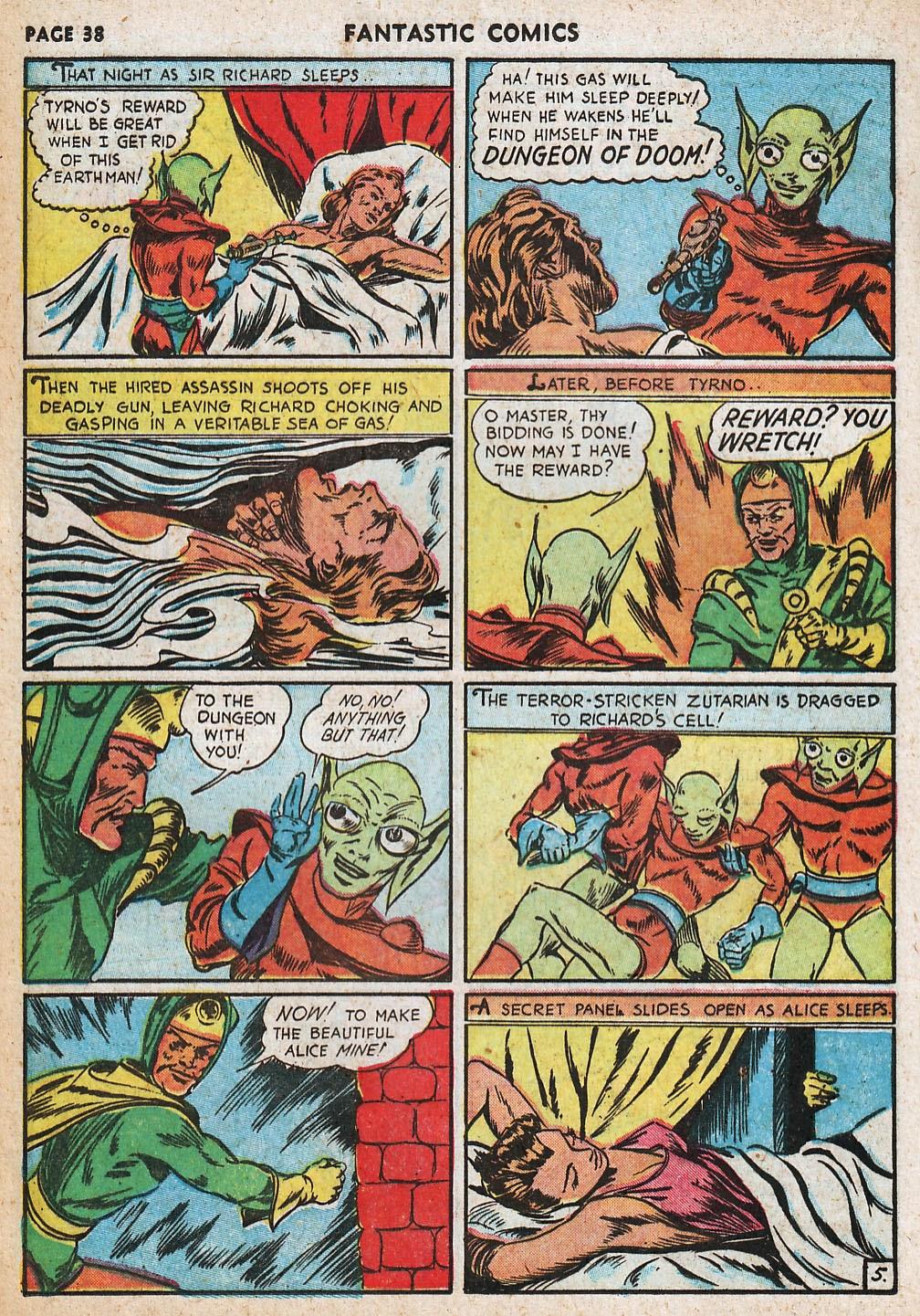 Read online Fantastic Comics comic -  Issue #20 - 38
