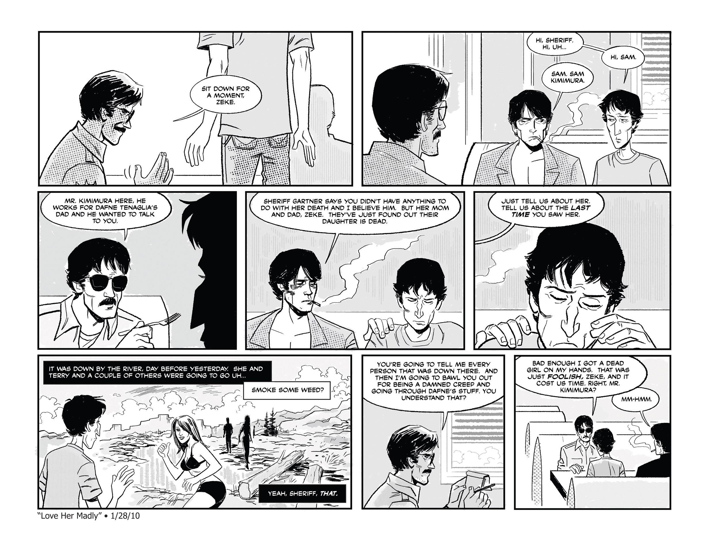 Read online She Died In Terrebonne comic -  Issue #2 - 8