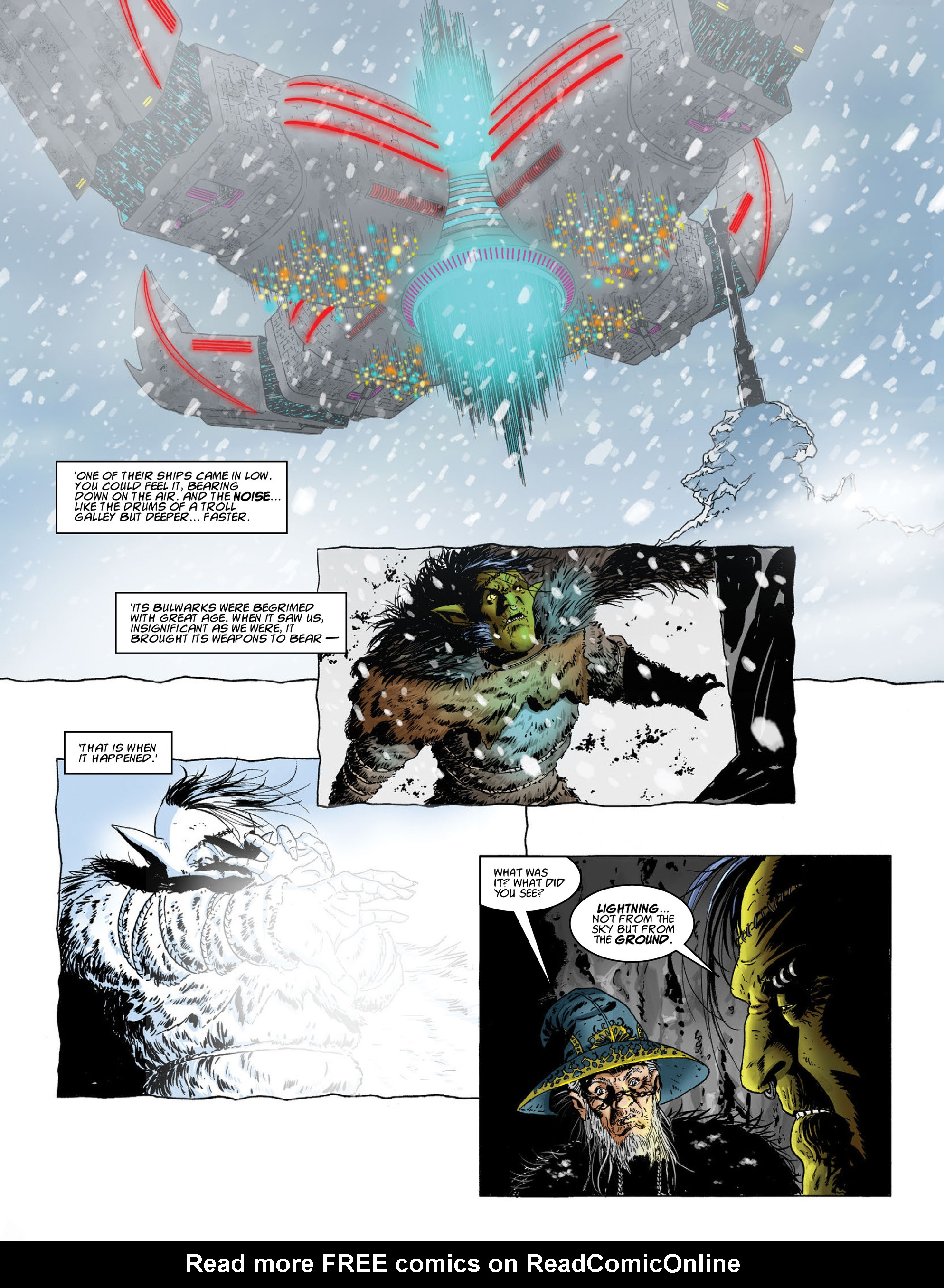 Read online 2000 AD comic -  Issue #2012 - 13