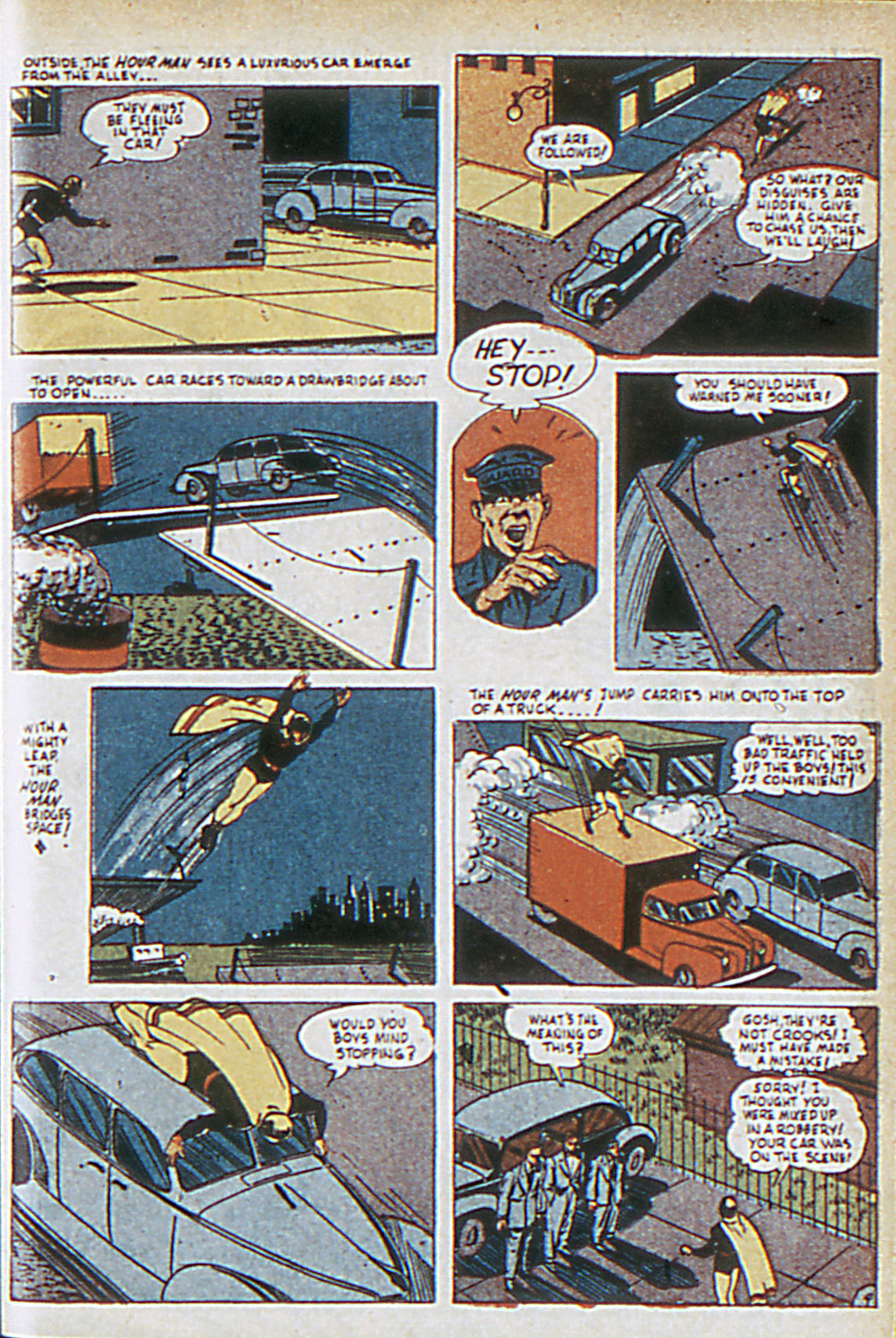 Read online Adventure Comics (1938) comic -  Issue #63 - 36