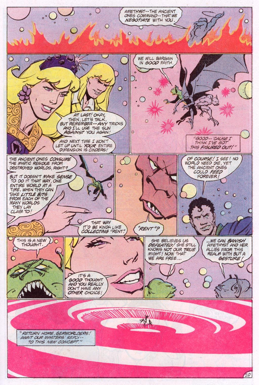 Read online Amethyst (1985) comic -  Issue #10 - 27