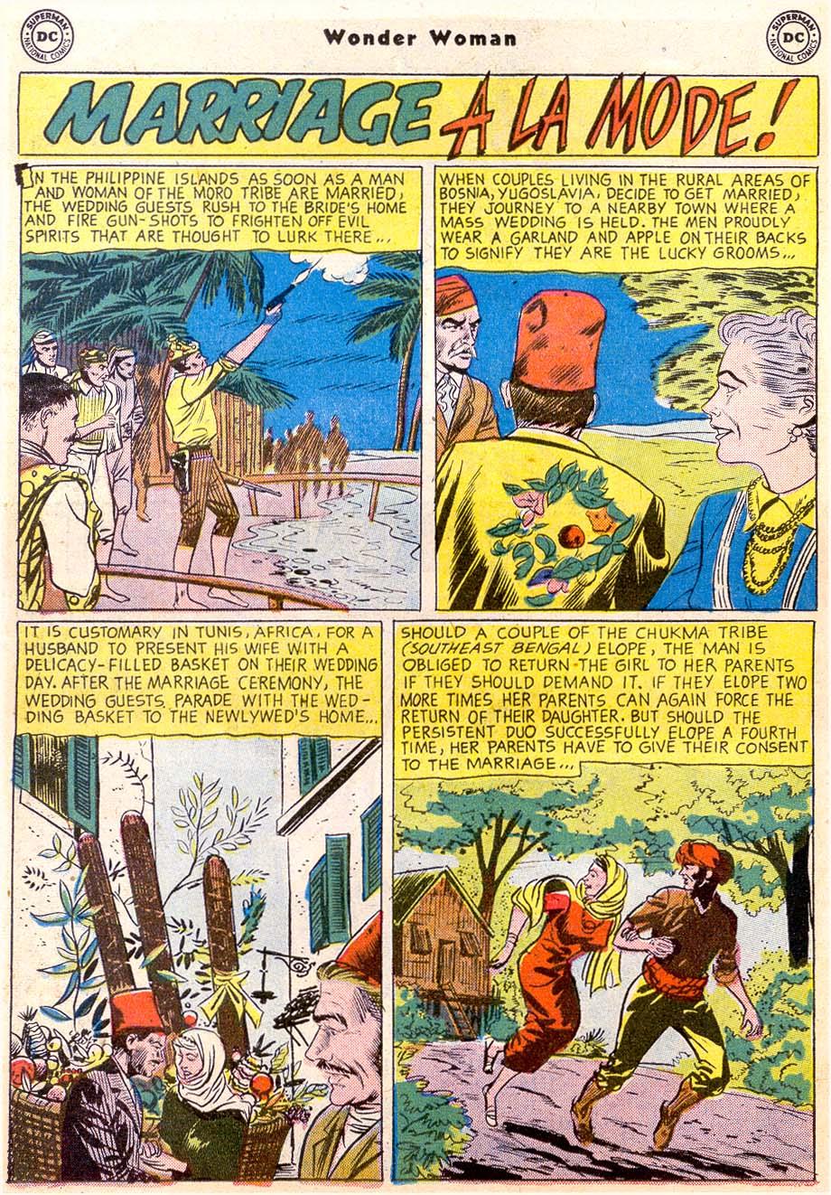 Read online Wonder Woman (1942) comic -  Issue #91 - 14